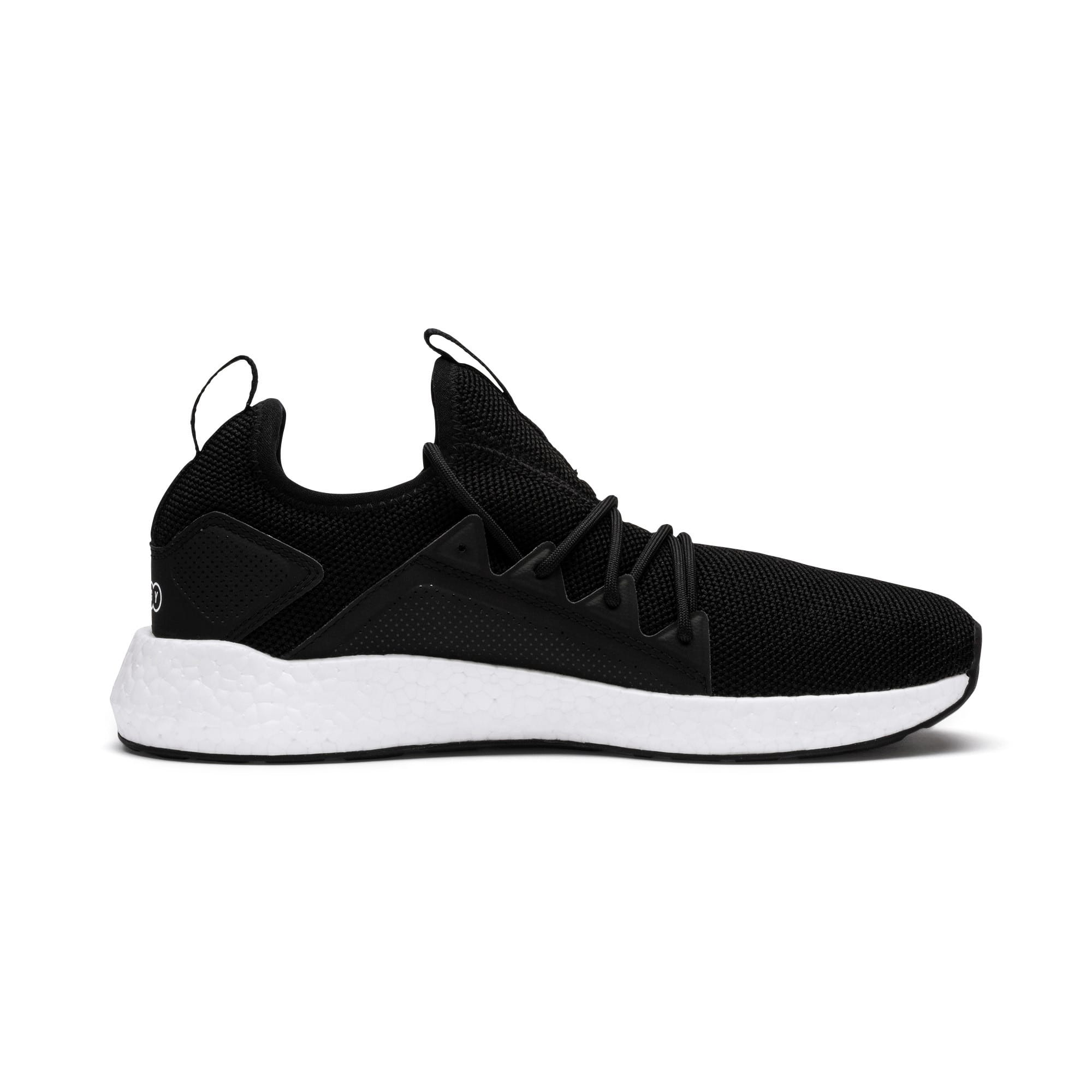 Thumbnail 5 of NRGY Neko Women's Running Shoes, Puma Black-Puma White, medium