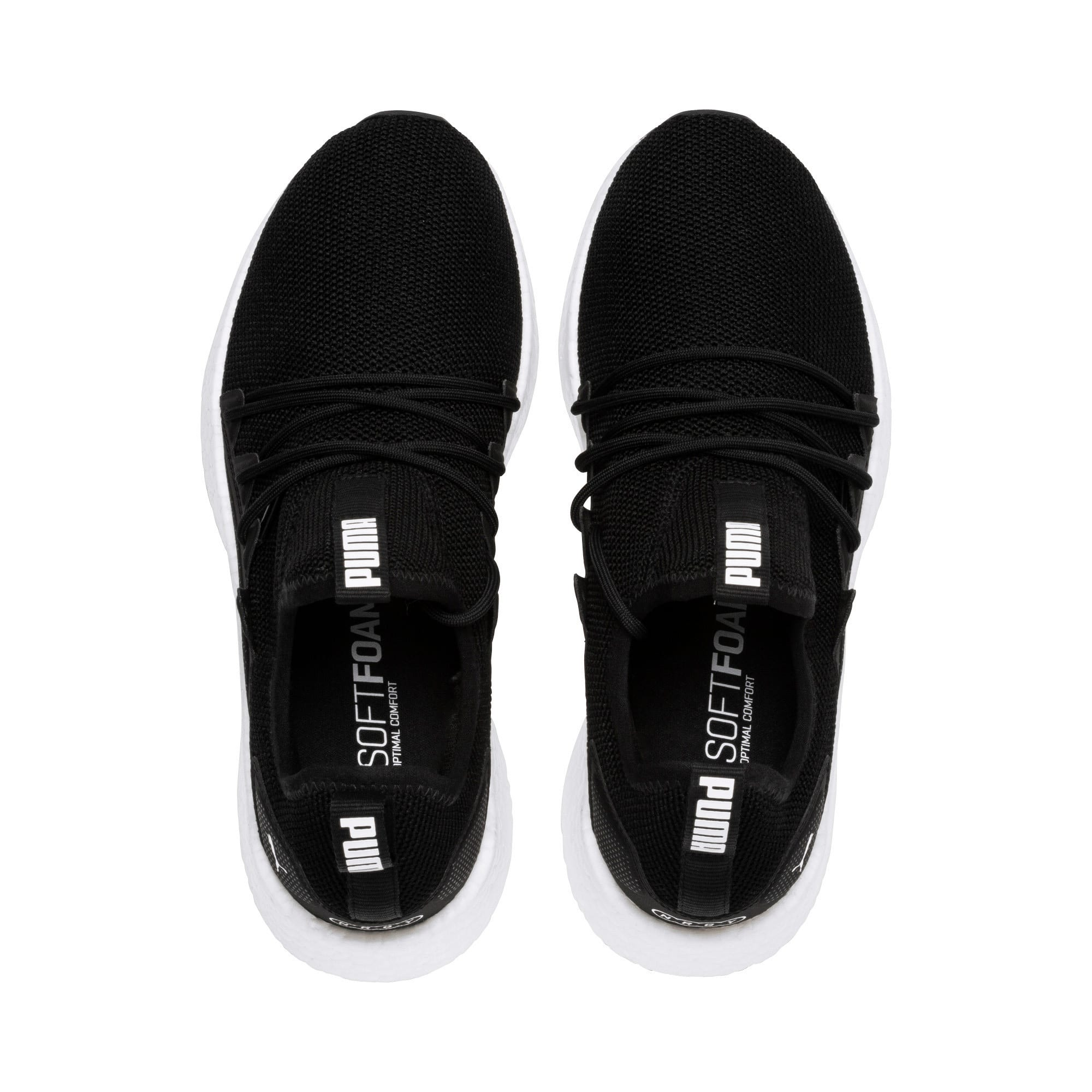 Thumbnail 6 of NRGY Neko Women's Running Shoes, Puma Black-Puma White, medium