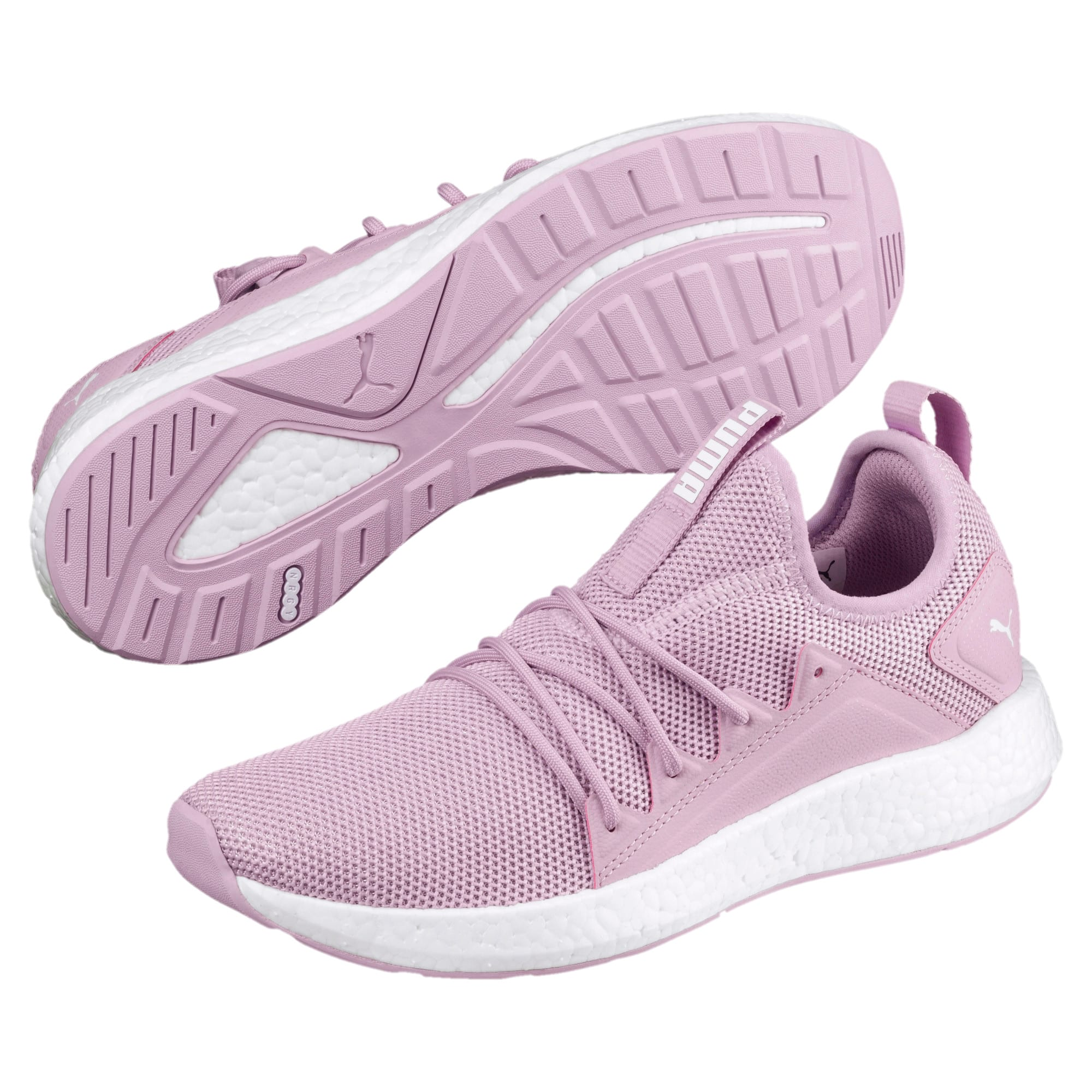 Thumbnail 2 of NRGY Neko Women's Running Shoes, Winsome Orchid-Puma White, medium
