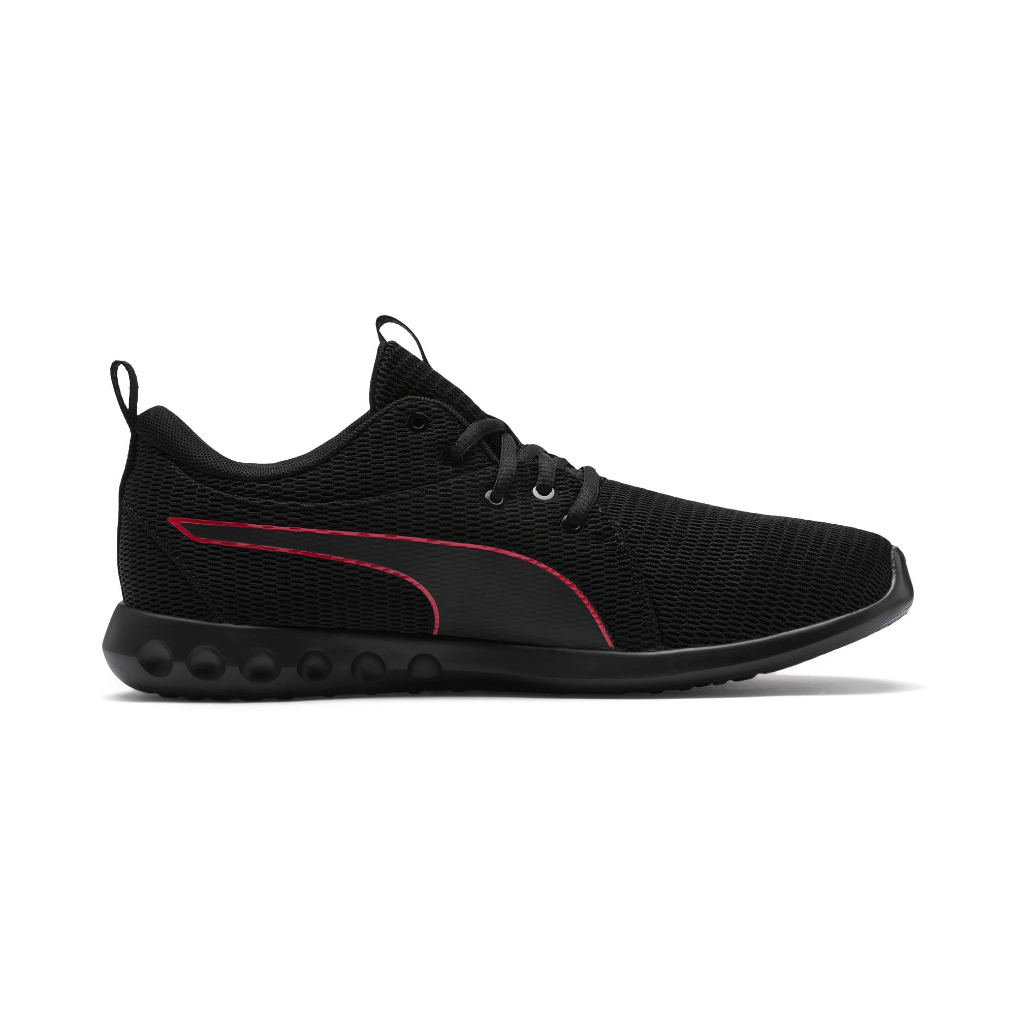 Thumbnail 5 of Carson 2 New Core Men's Running Shoes, Puma Black-High Risk Red, medium