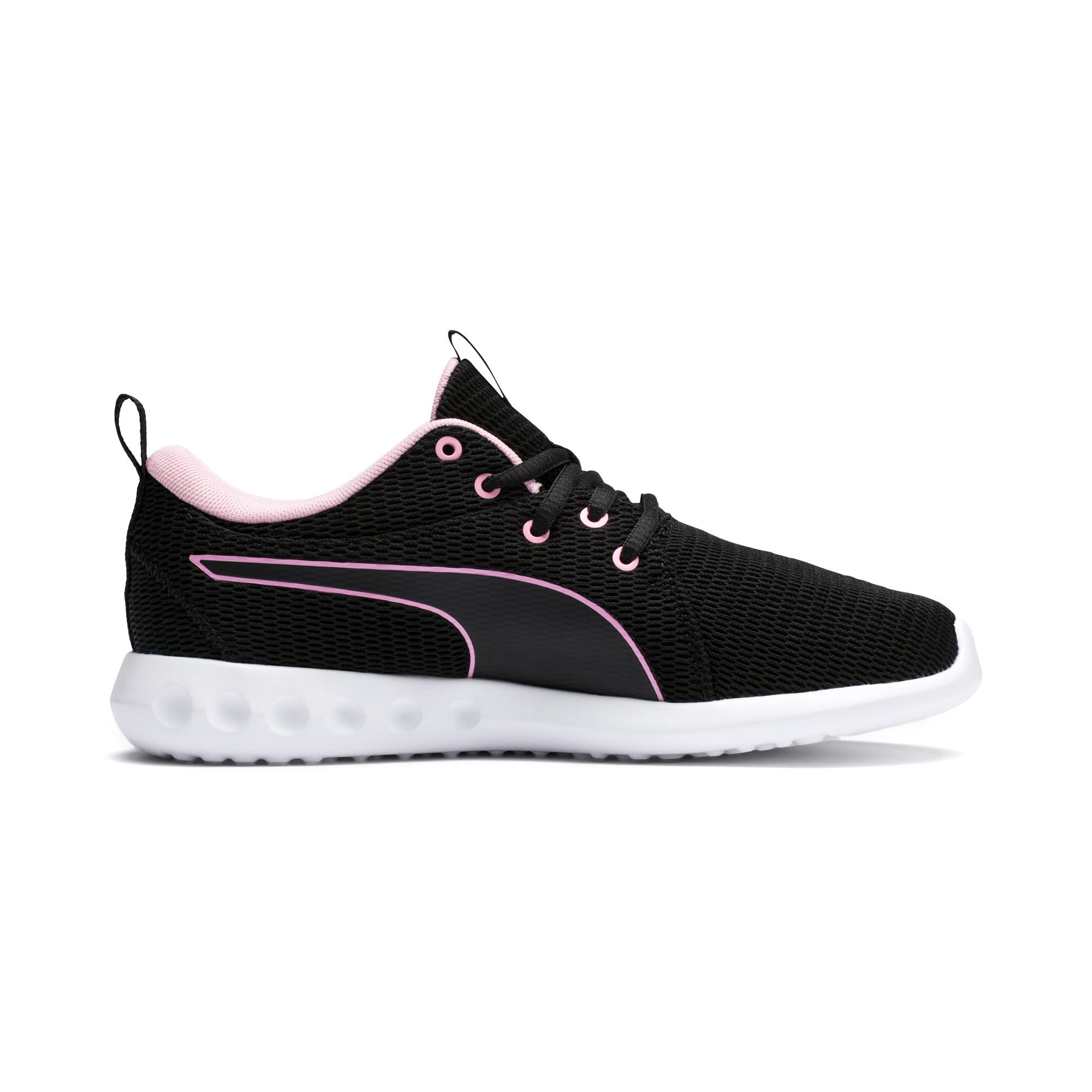 Thumbnail 5 of Carson 2 New Core Women's Trainers, Puma Black-Pale Pink, medium