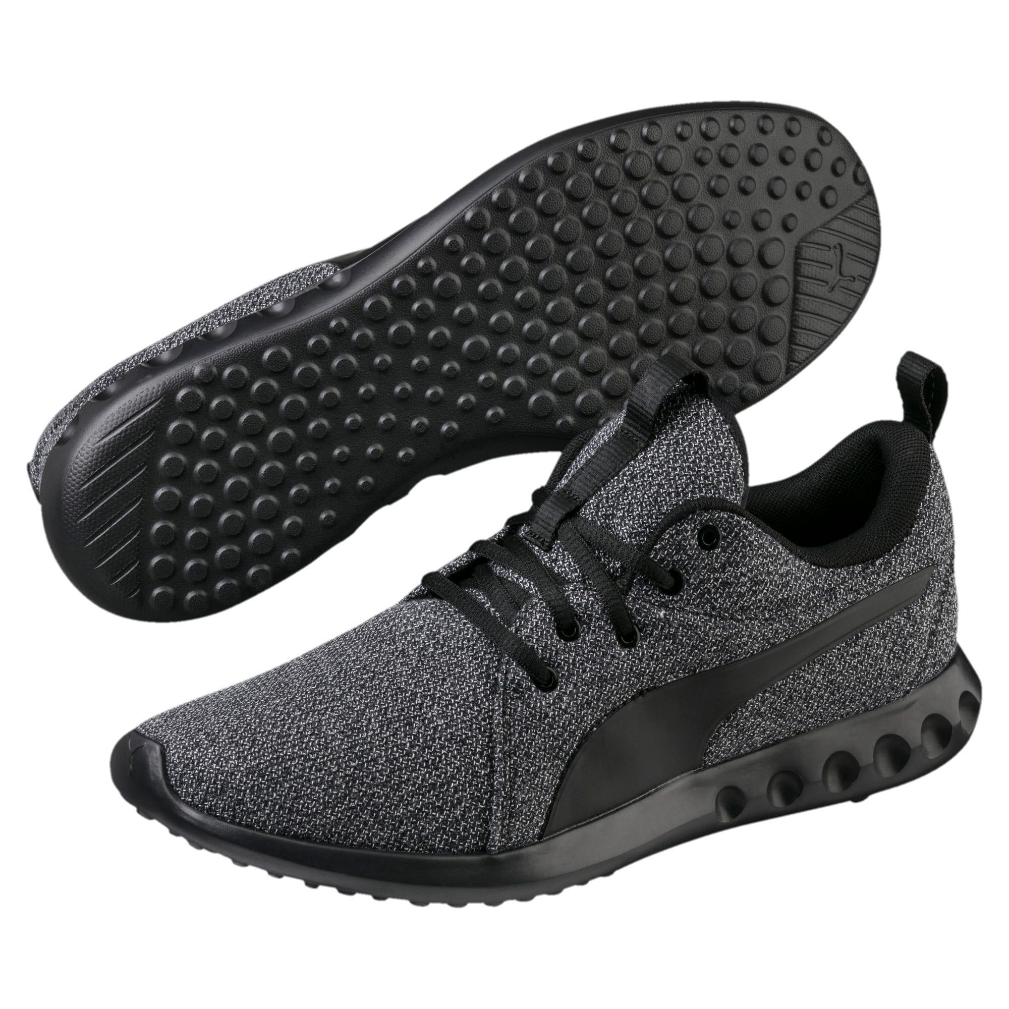 Thumbnail 2 of Carson 2 Knit Men's Training Shoes, Puma Black-Puma Black, medium