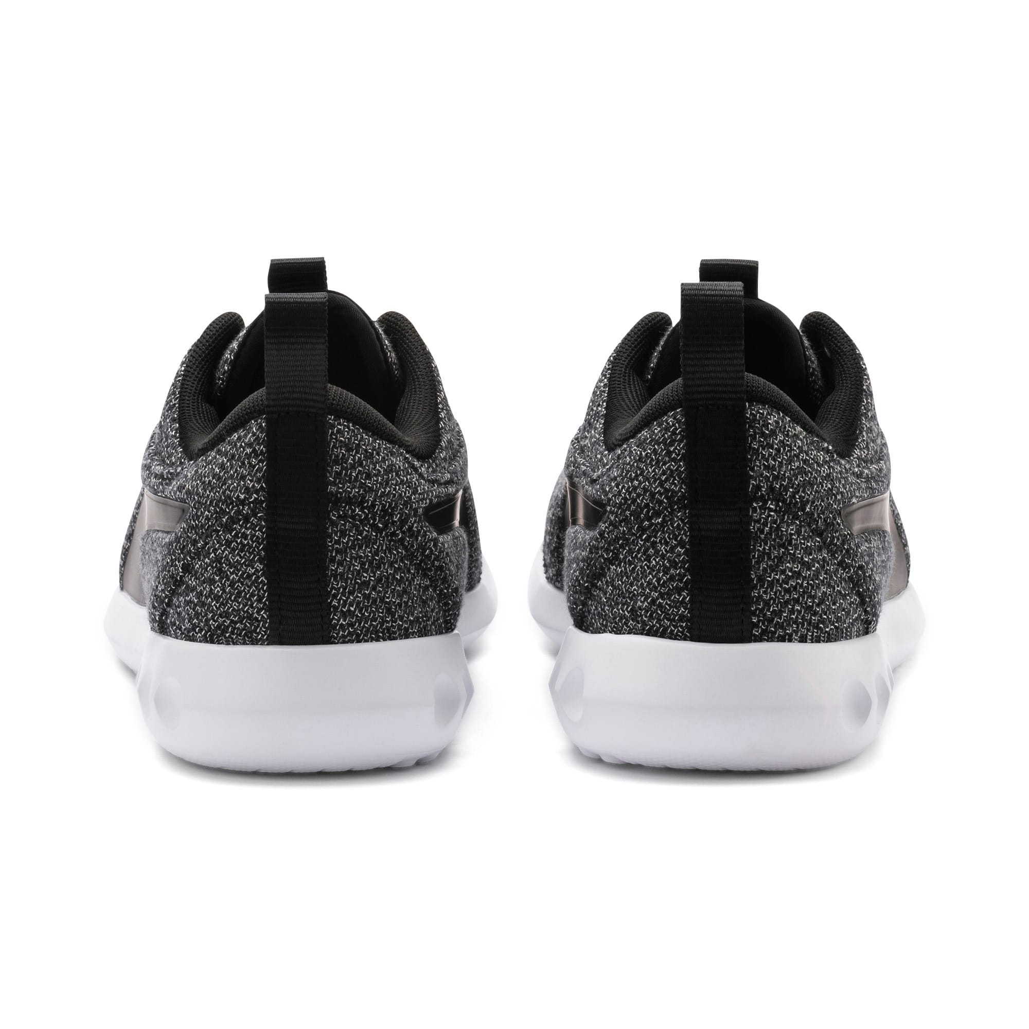 Thumbnail 3 of Carson 2 Knit Women's Trainers, Puma Black-Puma White, medium