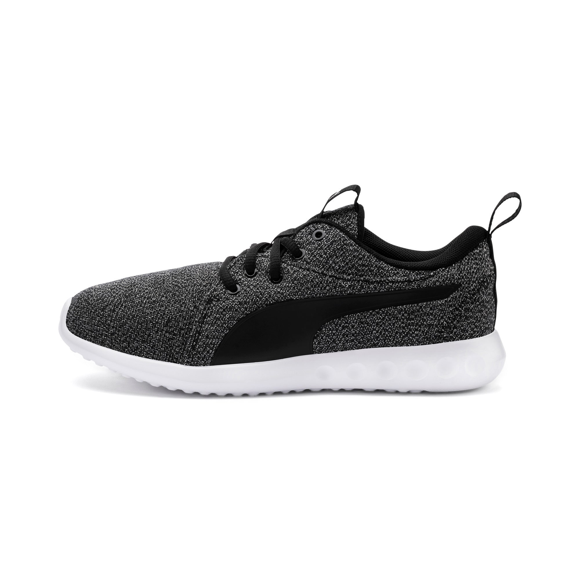 Thumbnail 1 of Carson 2 Knit Women's Trainers, Puma Black-Puma White, medium