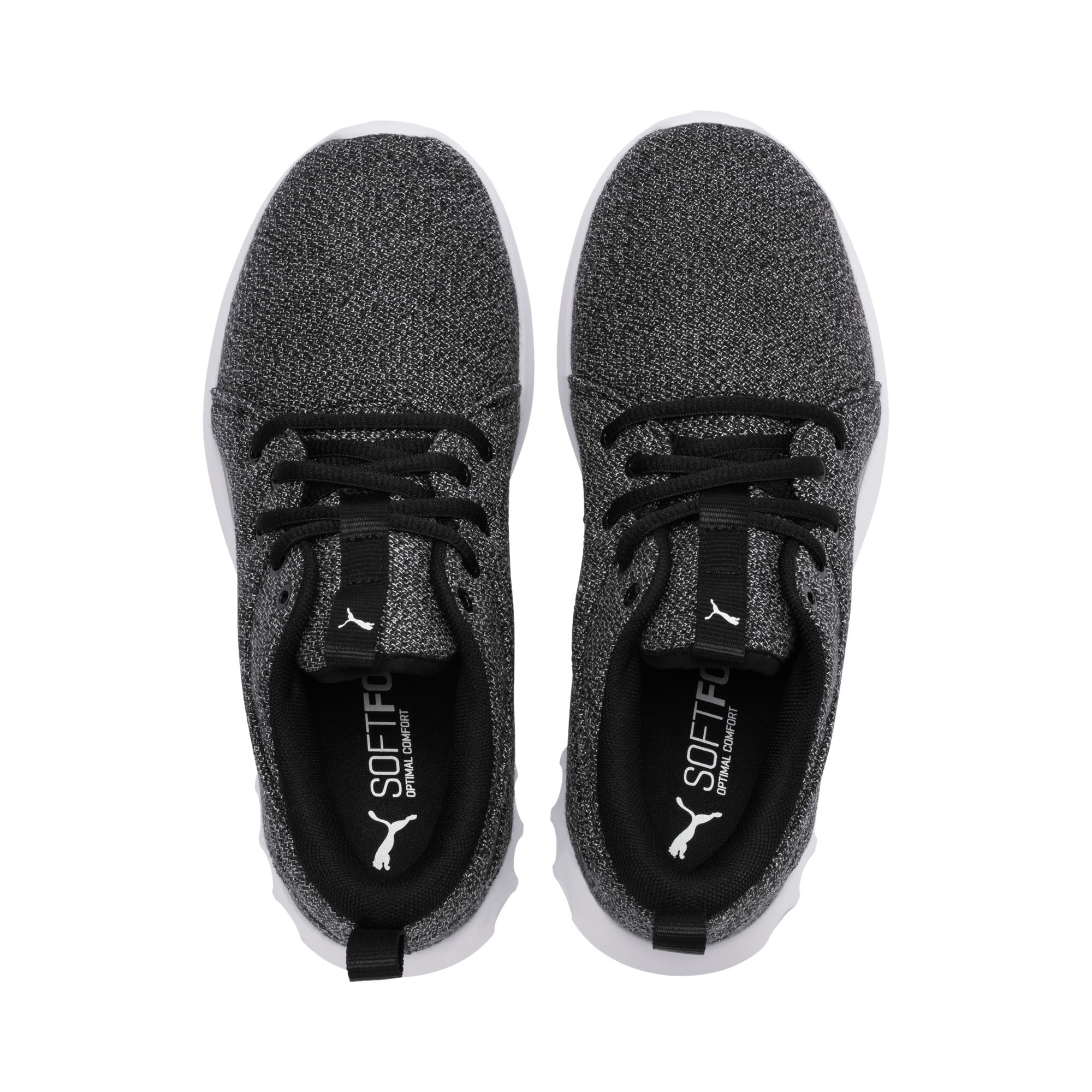 Thumbnail 6 of Carson 2 Knit Damen Sneaker, Puma Black-Puma White, medium