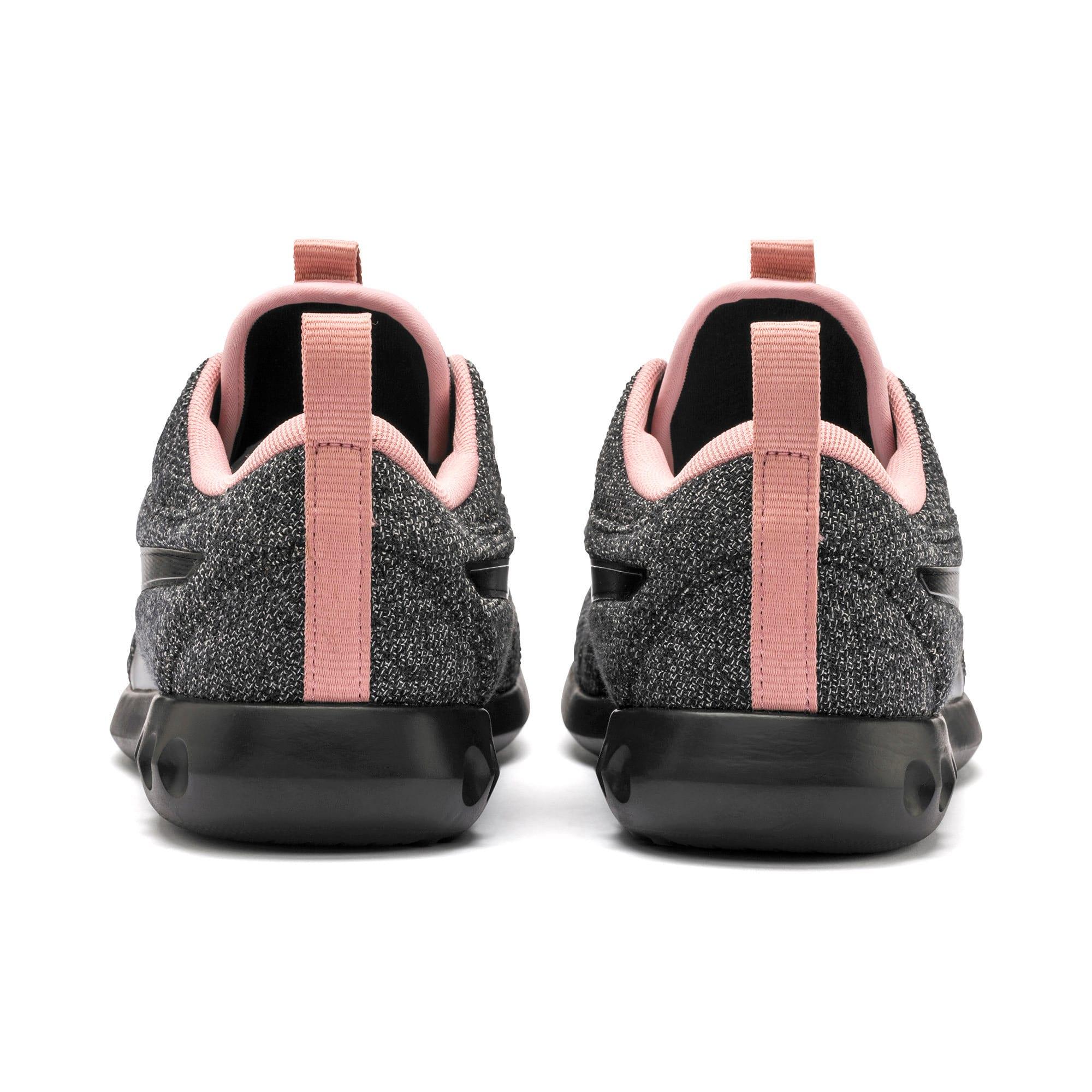 Thumbnail 4 of Carson 2 Knit Women's Running Shoes, Puma Black-White-Bridal Rose, medium