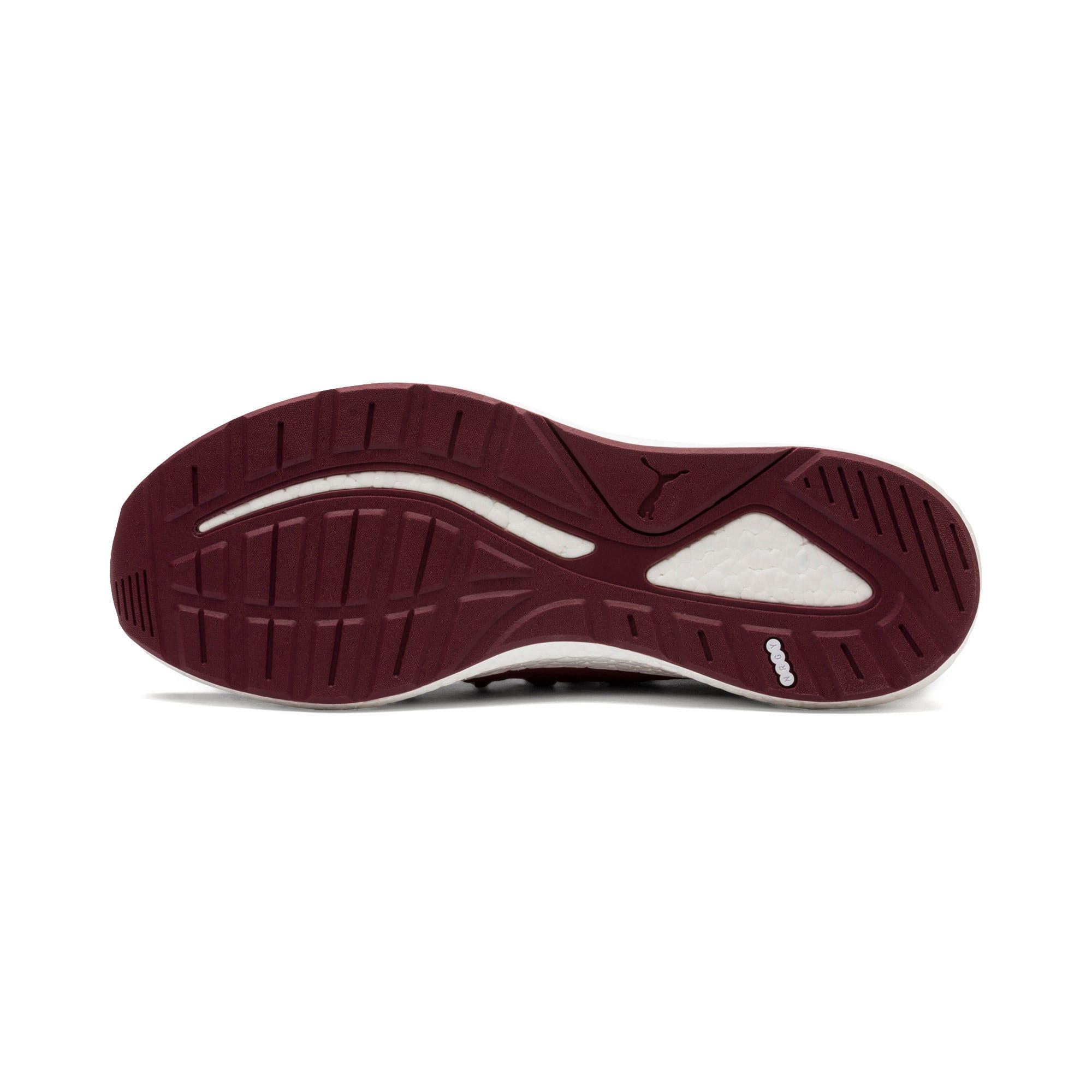 Thumbnail 3 of NRGY Neko Knit Men's Running Shoes, Pomegranate-Puma Black, medium