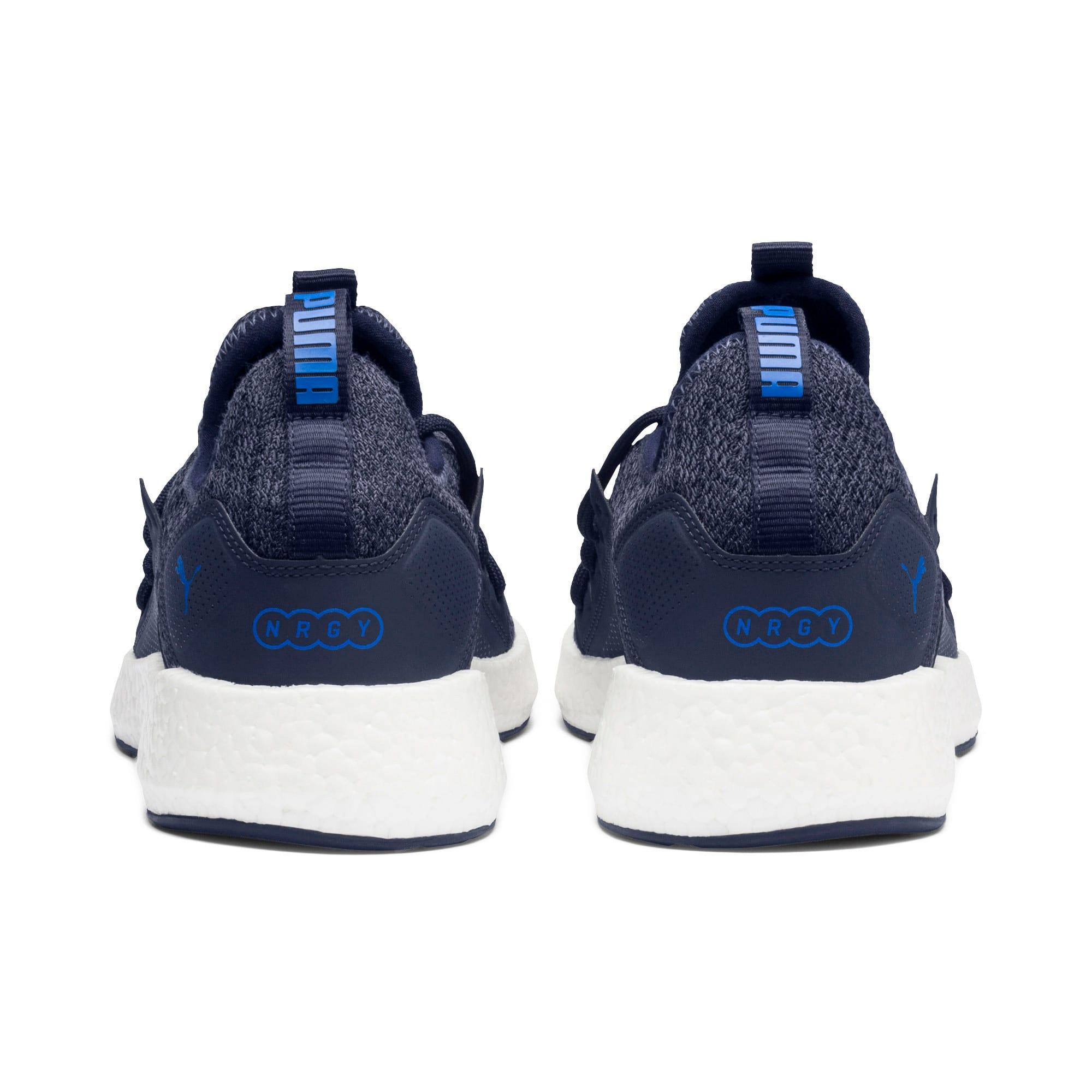 Miniatura 4 de Zapatos para correr NRGY Neko Knit para hombre, Peacoat-Strong Blue, mediano