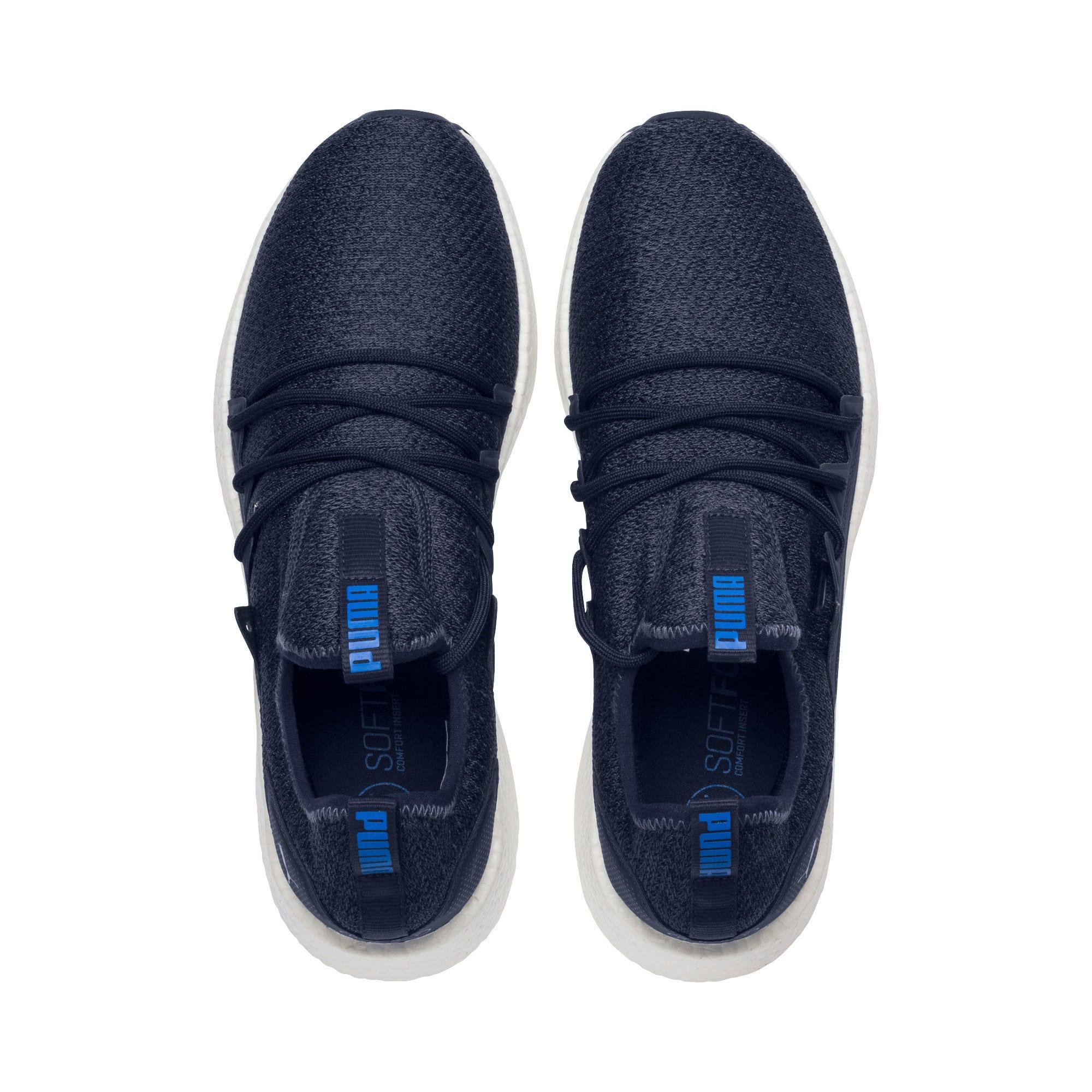 Miniatura 6 de Zapatos para correr NRGY Neko Knit para hombre, Peacoat-Strong Blue, mediano