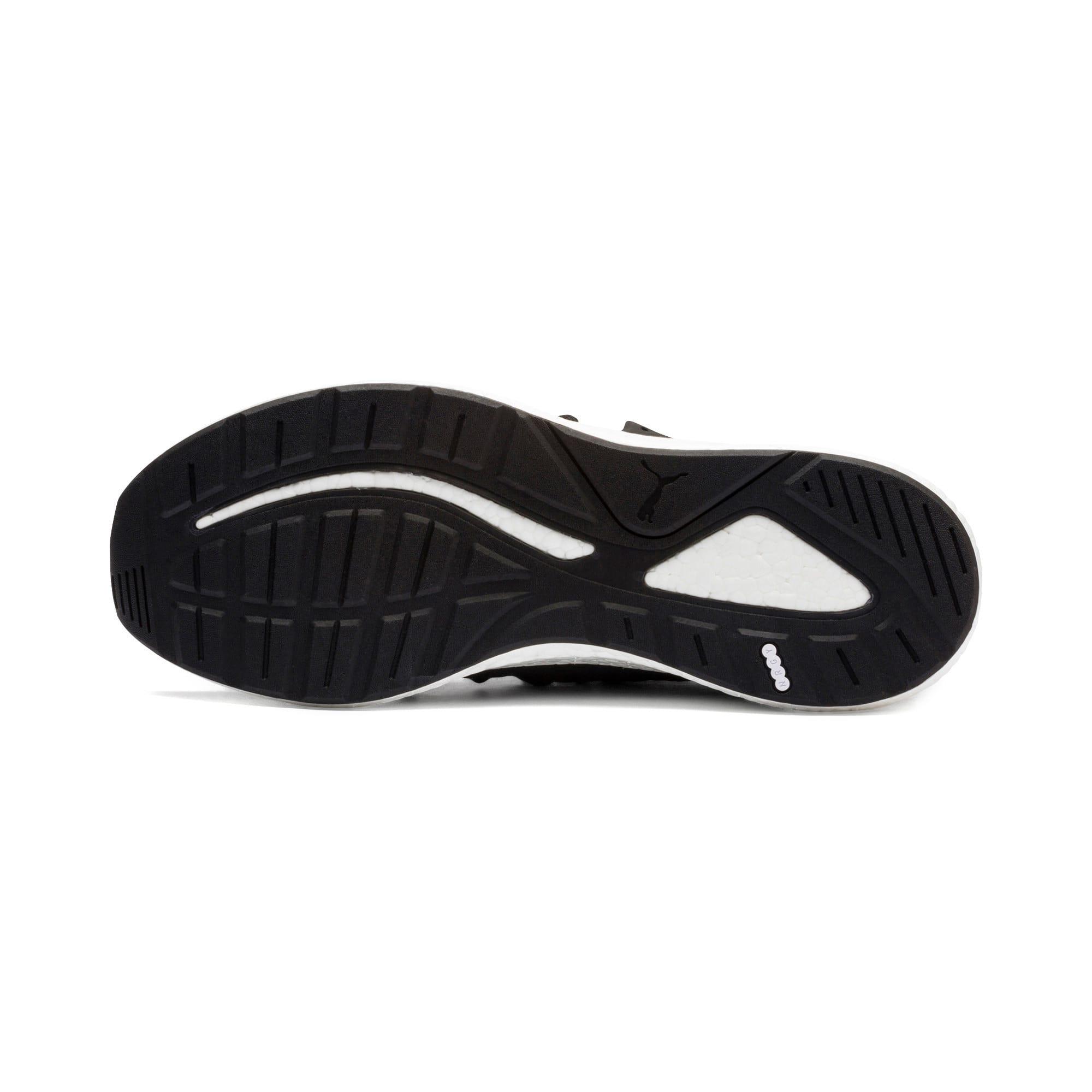 Thumbnail 3 of NRGY Neko Knit Men's Running Shoes, Puma Black-High Risk Red, medium
