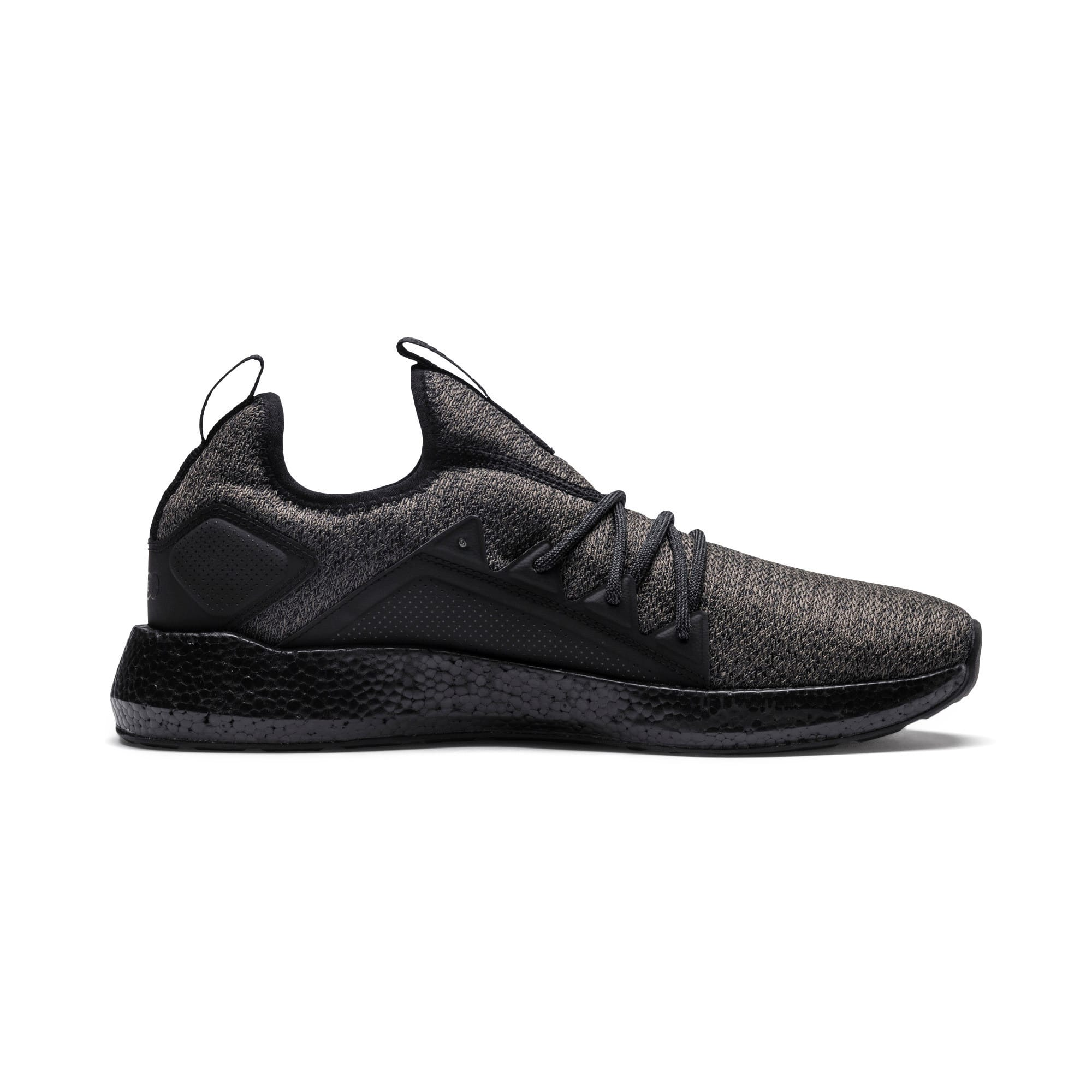 Thumbnail 5 of NRGY Neko Knit Men's Running Shoes, Puma Black-Puma Black, medium