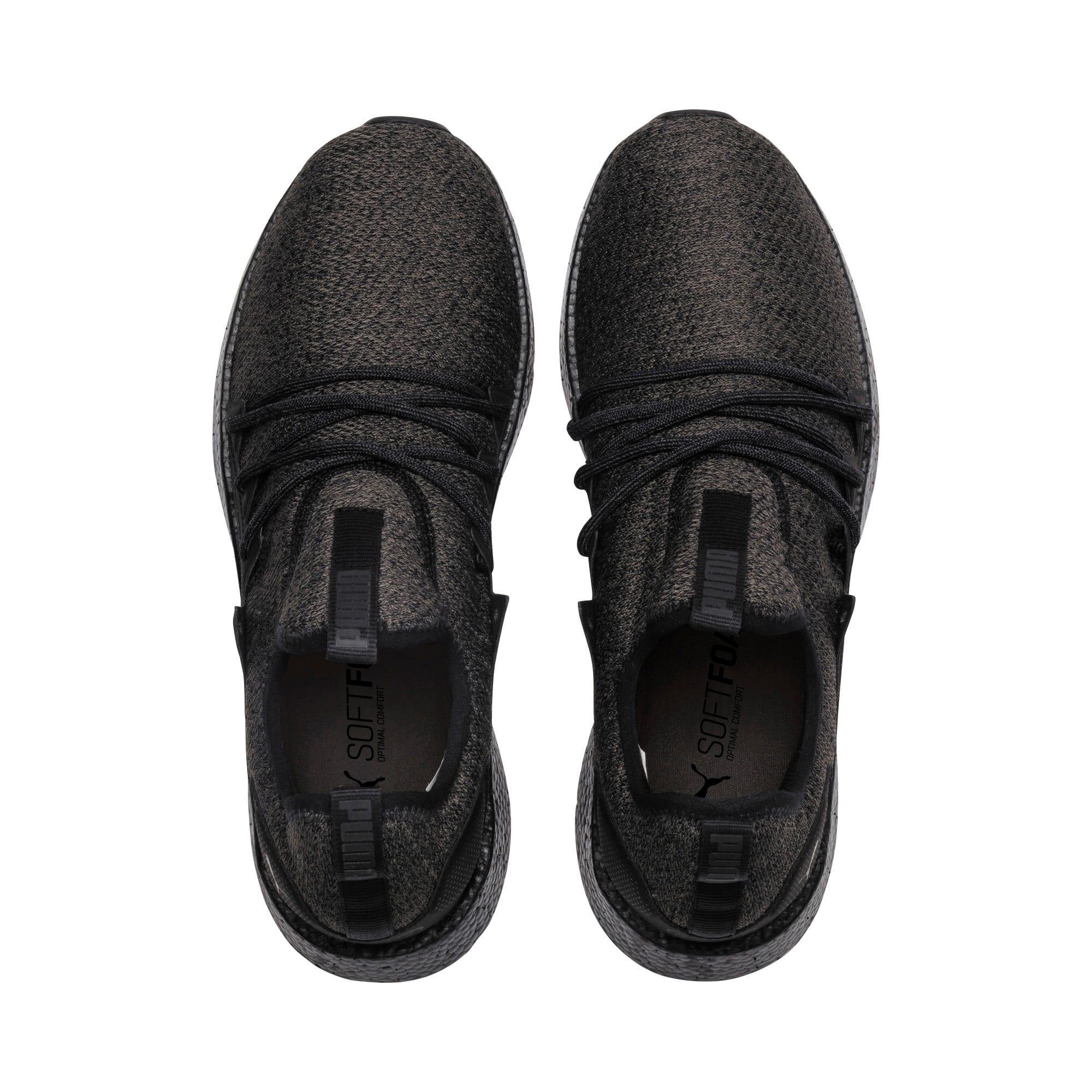 Thumbnail 6 of NRGY Neko Knit Men's Running Shoes, Puma Black-Puma Black, medium