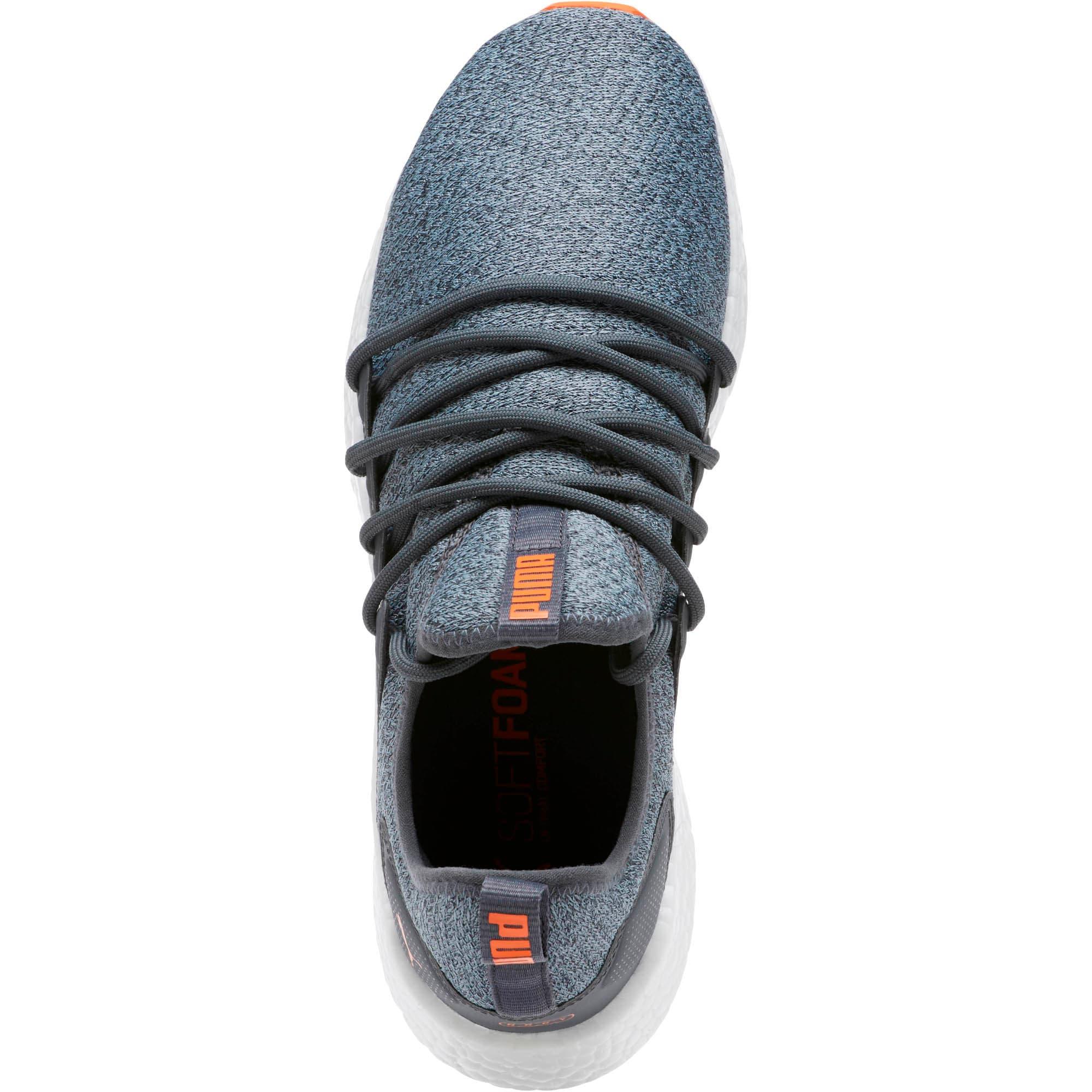 Thumbnail 5 of NRGY Neko Knit Men's Running Shoes, Iron Gate-Firecracker, medium