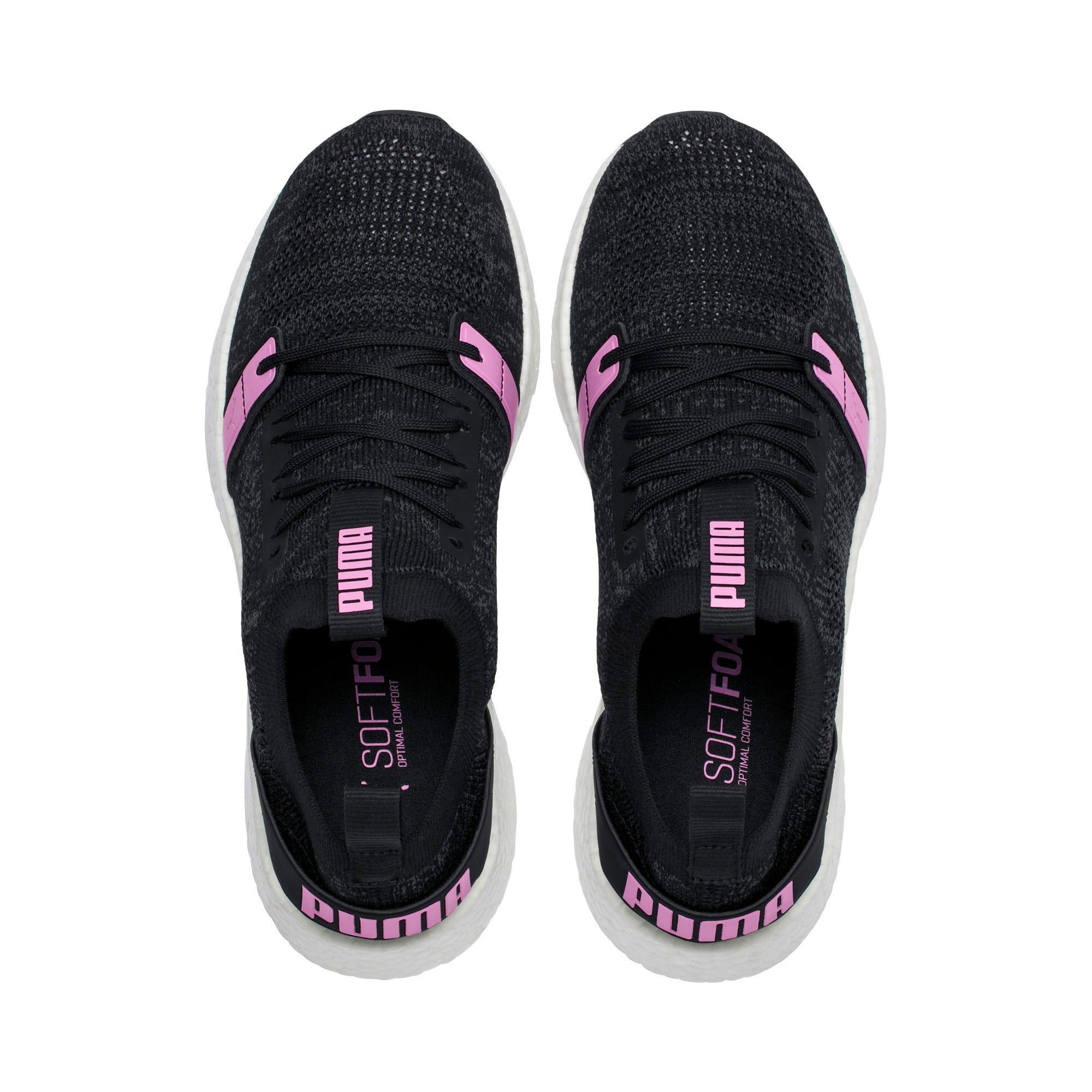 Thumbnail 6 of NRGY Neko Engineer Knit Women's Running Shoes, Puma Black-Iron Gate-Orchid, medium