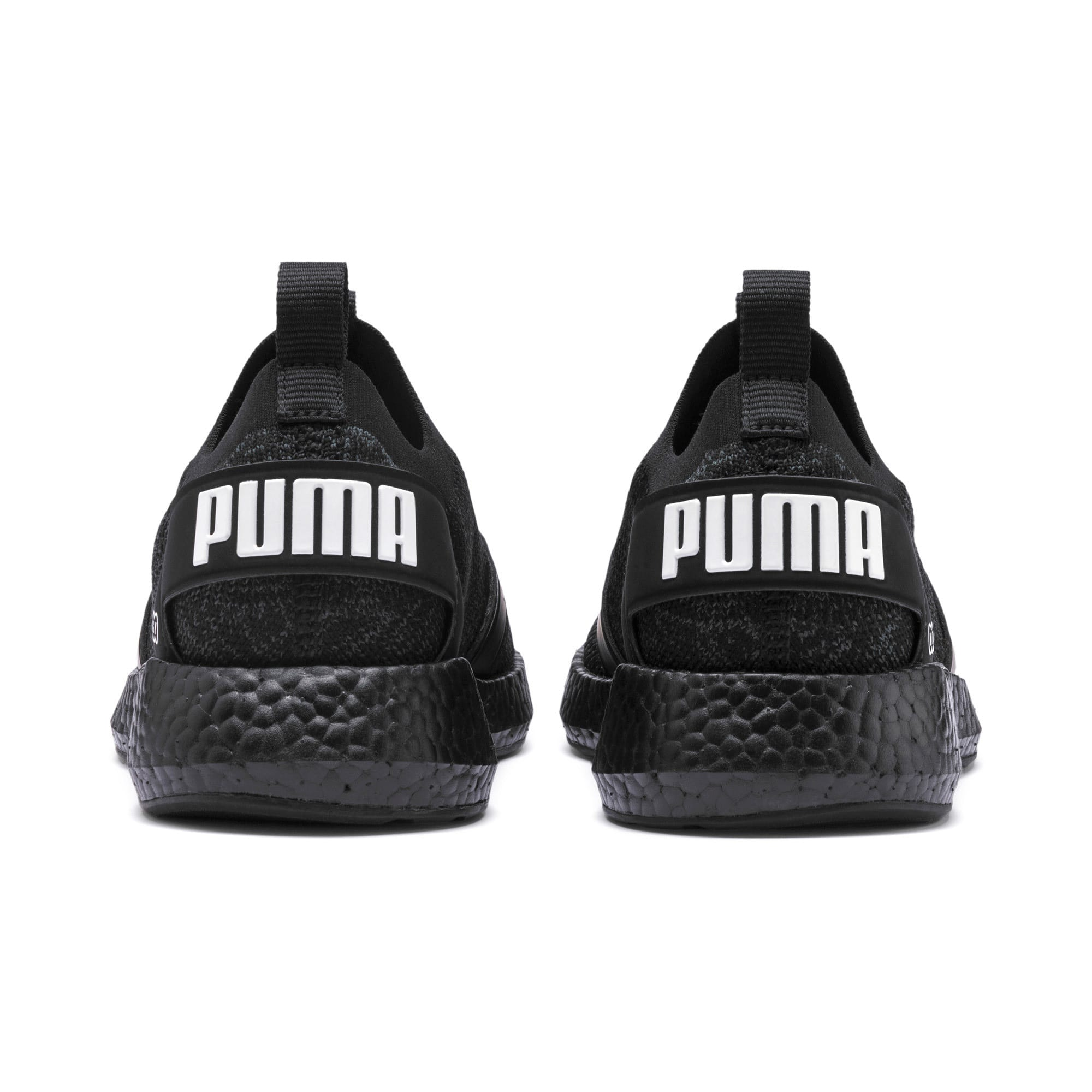 Thumbnail 4 of NRGY Neko Engineer Knit Women's Running Shoes, Puma Black-Puma Black, medium