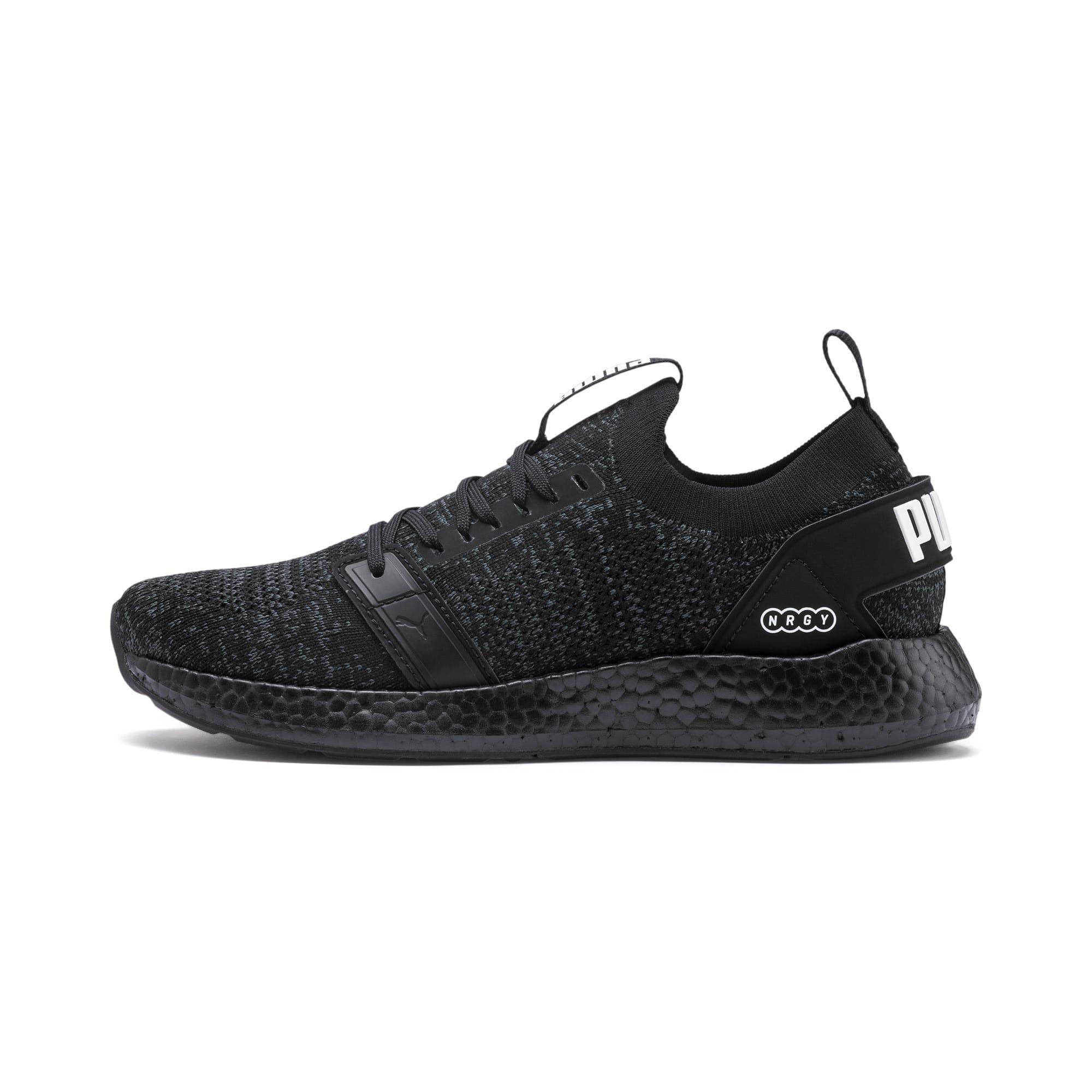 Thumbnail 1 of NRGY Neko Engineer Knit Women's Running Shoes, Puma Black-Puma Black, medium