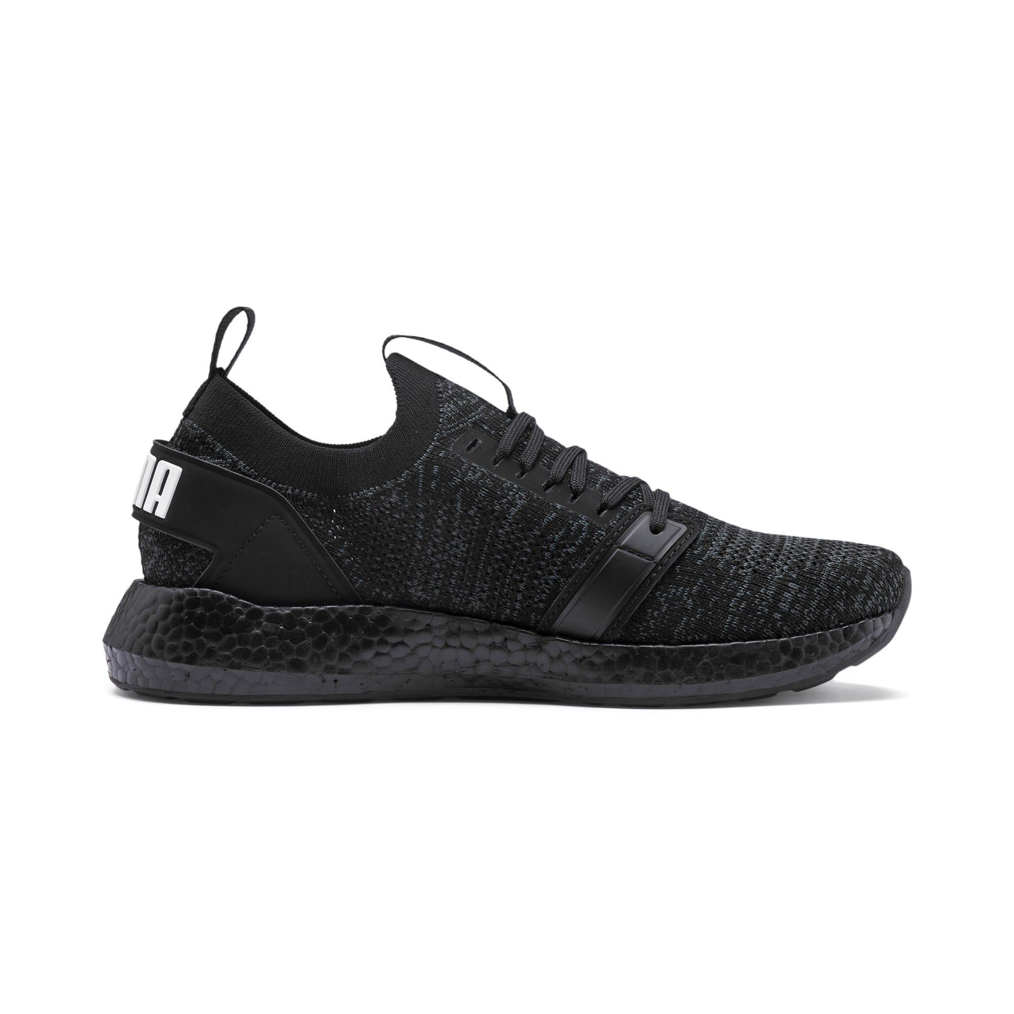 Thumbnail 6 of NRGY Neko Engineer Knit Women's Running Shoes, Puma Black-Puma Black, medium