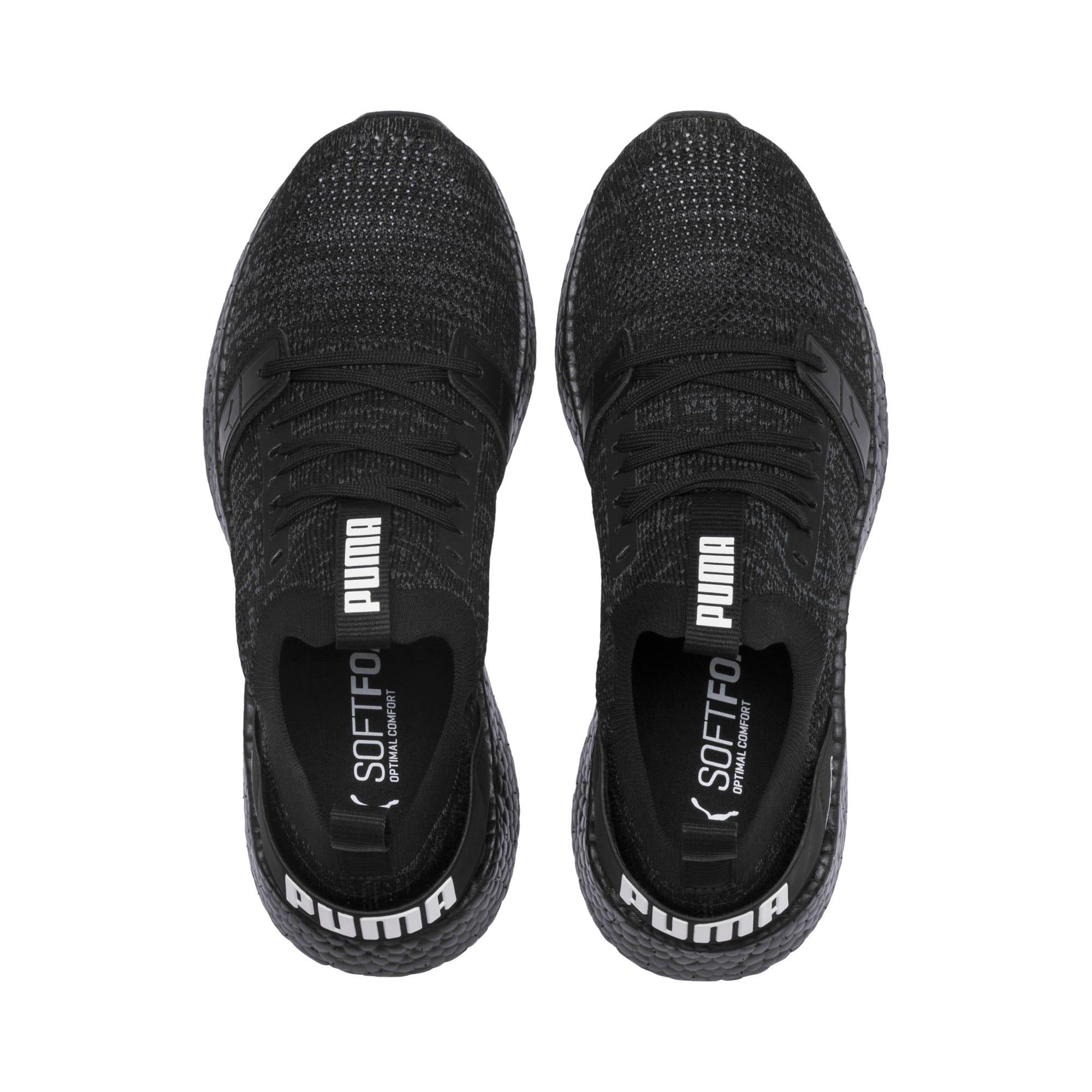 Thumbnail 7 of NRGY Neko Engineer Knit Women's Running Shoes, Puma Black-Puma Black, medium
