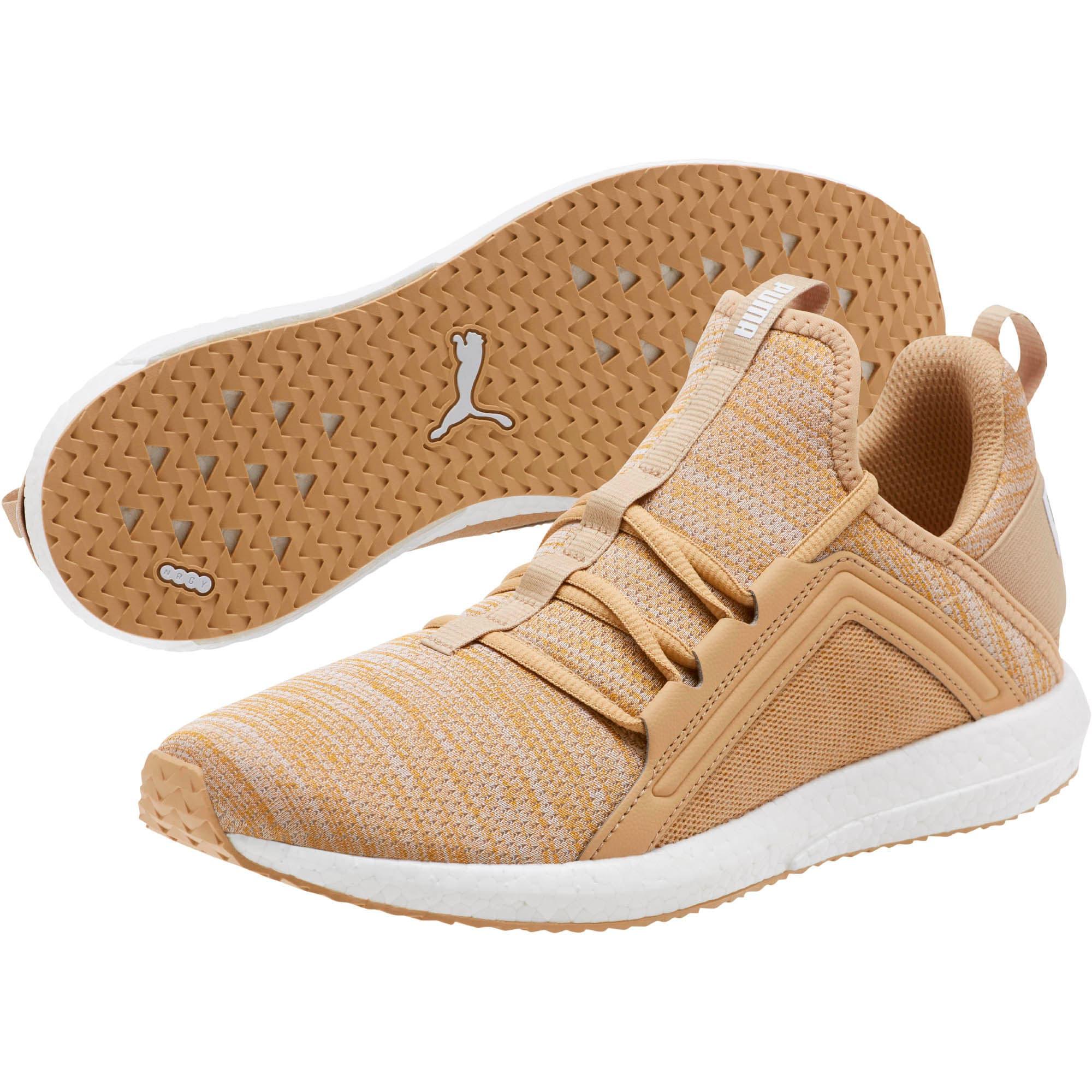 Miniatura 2 de Zapatos para correr Mega NRGY  Heather Knit para hombre, Taos Taupe-Puma White, mediano