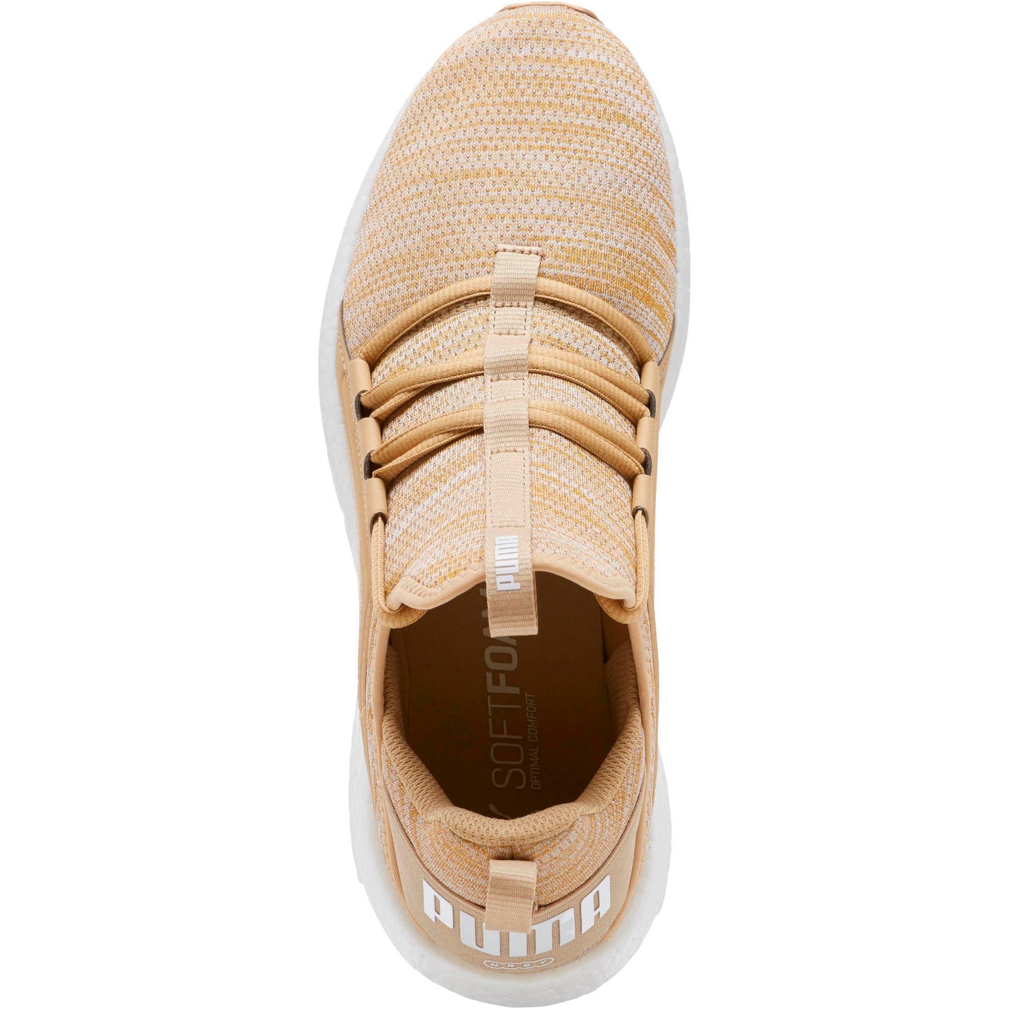 Miniatura 5 de Zapatos para correr Mega NRGY  Heather Knit para hombre, Taos Taupe-Puma White, mediano