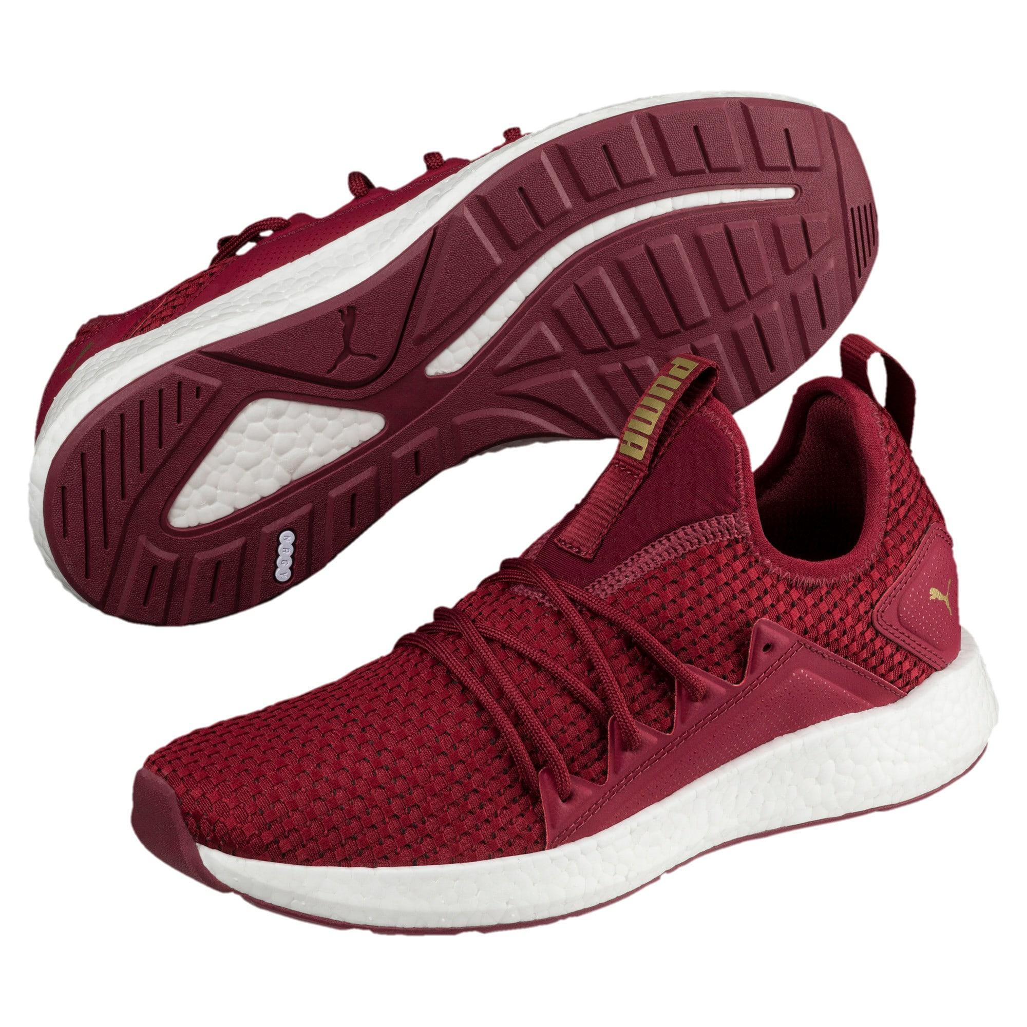 Thumbnail 2 of NRGY Neko VT Women's Running Shoes, Pomegranate-Metallic Gold, medium