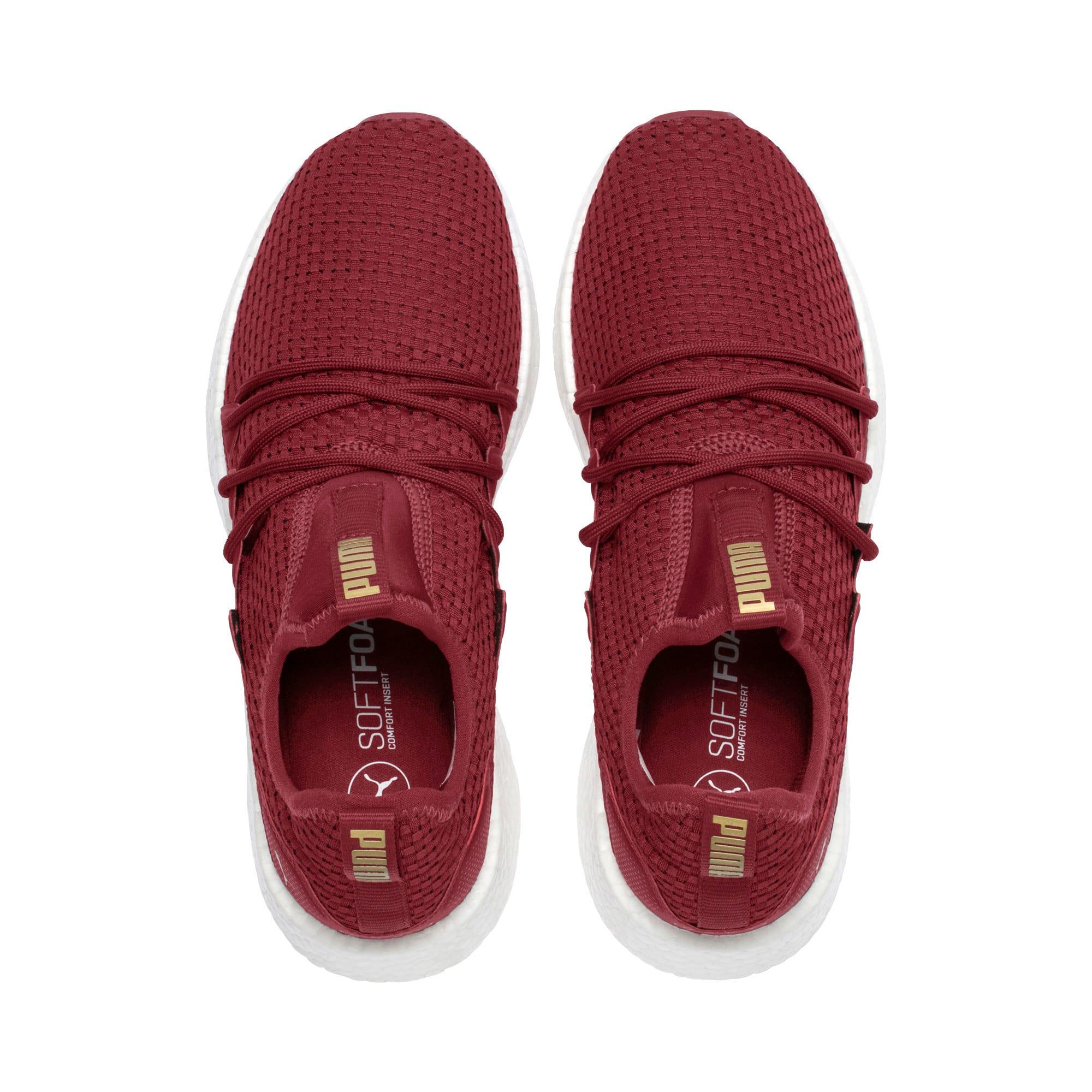 Thumbnail 6 of NRGY Neko VT Women's Running Shoes, Pomegranate-Metallic Gold, medium