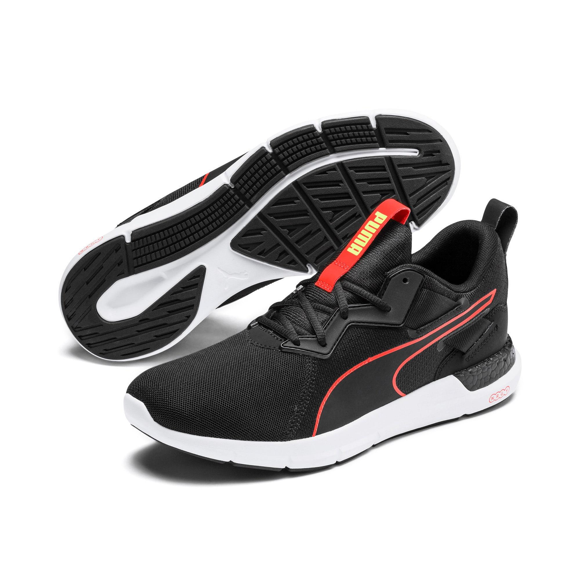 Thumbnail 2 of NRGY Dynamo Futuro Men's Running Shoes, Puma Black-Nrgy Red, medium