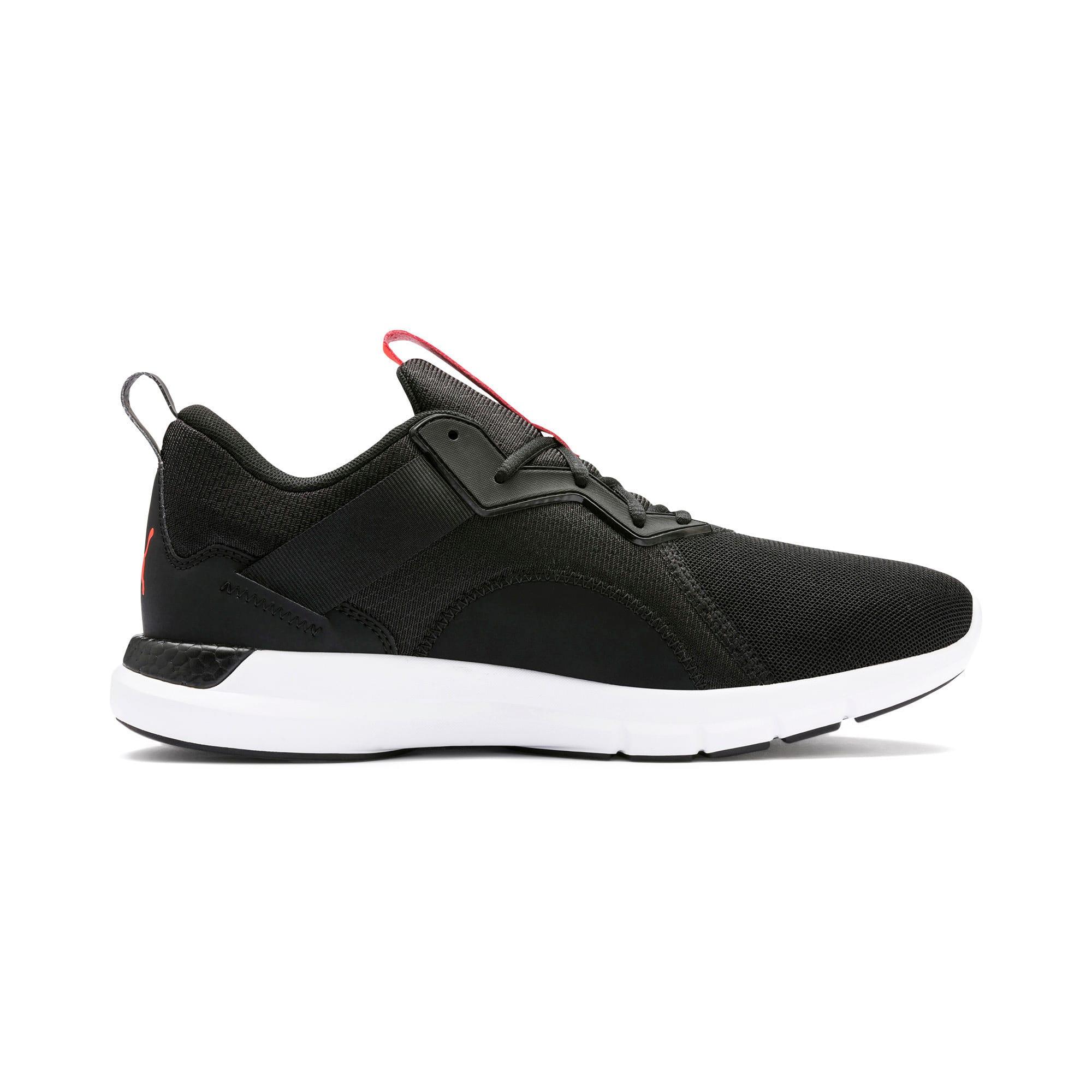 Thumbnail 6 of NRGY Dynamo Futuro Men's Running Shoes, Puma Black-Nrgy Red, medium