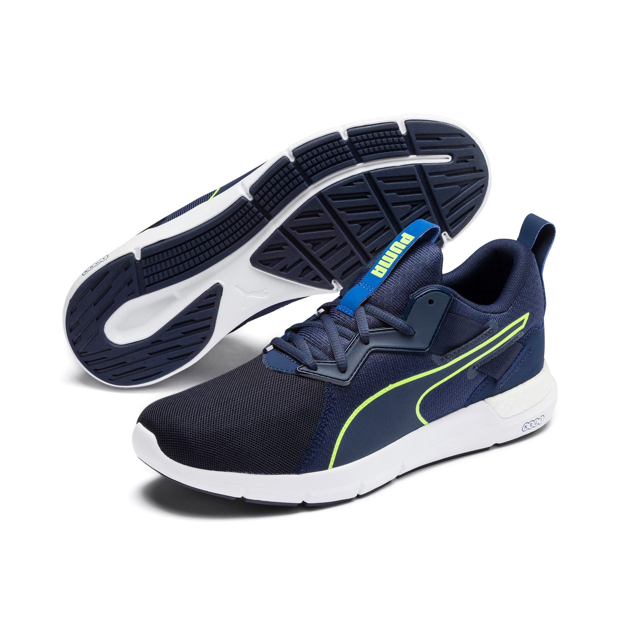 Thumbnail 2 of NRGY Dynamo Futuro Men's Running Shoes, Peacoat-Puma White, medium