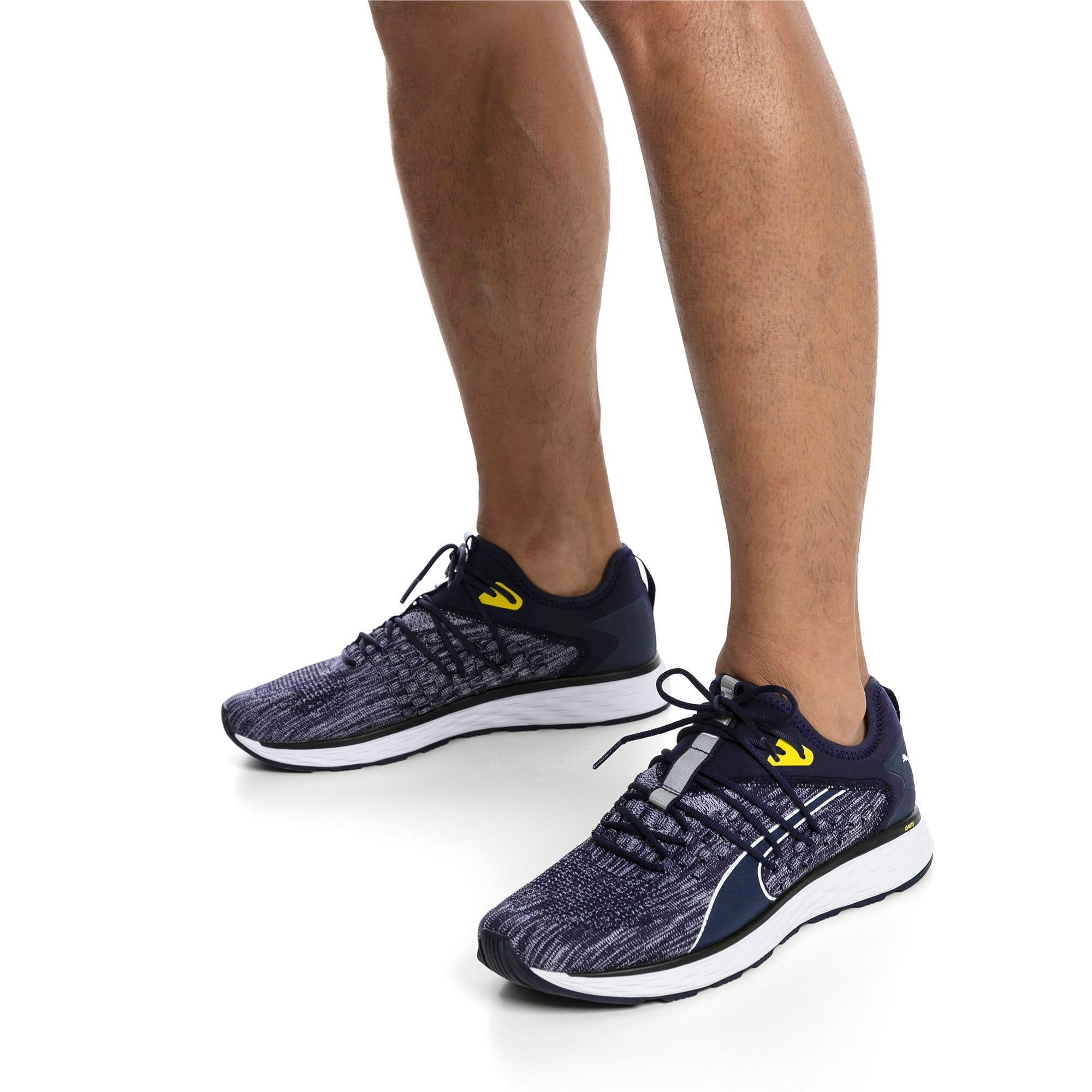 Thumbnail 2 of SPEED FUSEFIT Men's Running Shoes, Peacoat-White-Blazing Yellow, medium