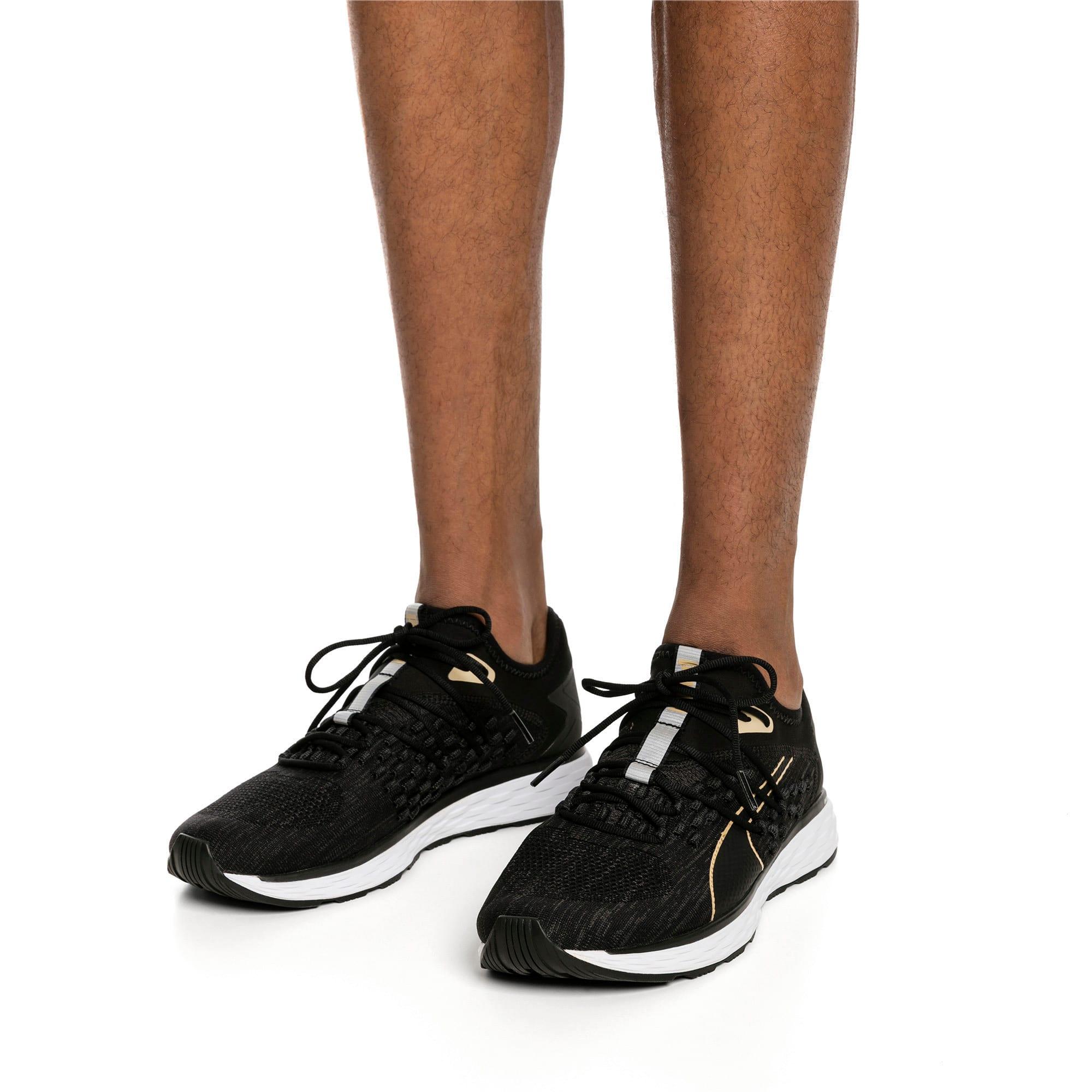 Thumbnail 2 of SPEED FUSEFIT Men's Running Shoes, Black-White-Taos Taupe, medium