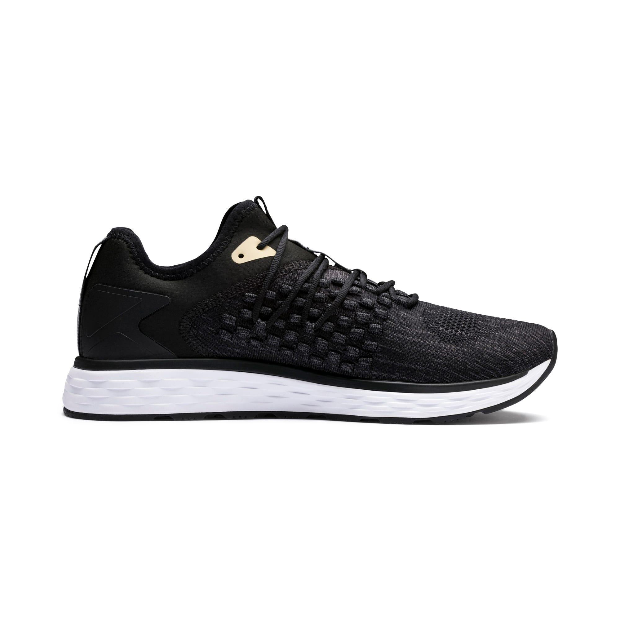 Thumbnail 6 of SPEED FUSEFIT Men's Running Shoes, Black-White-Taos Taupe, medium