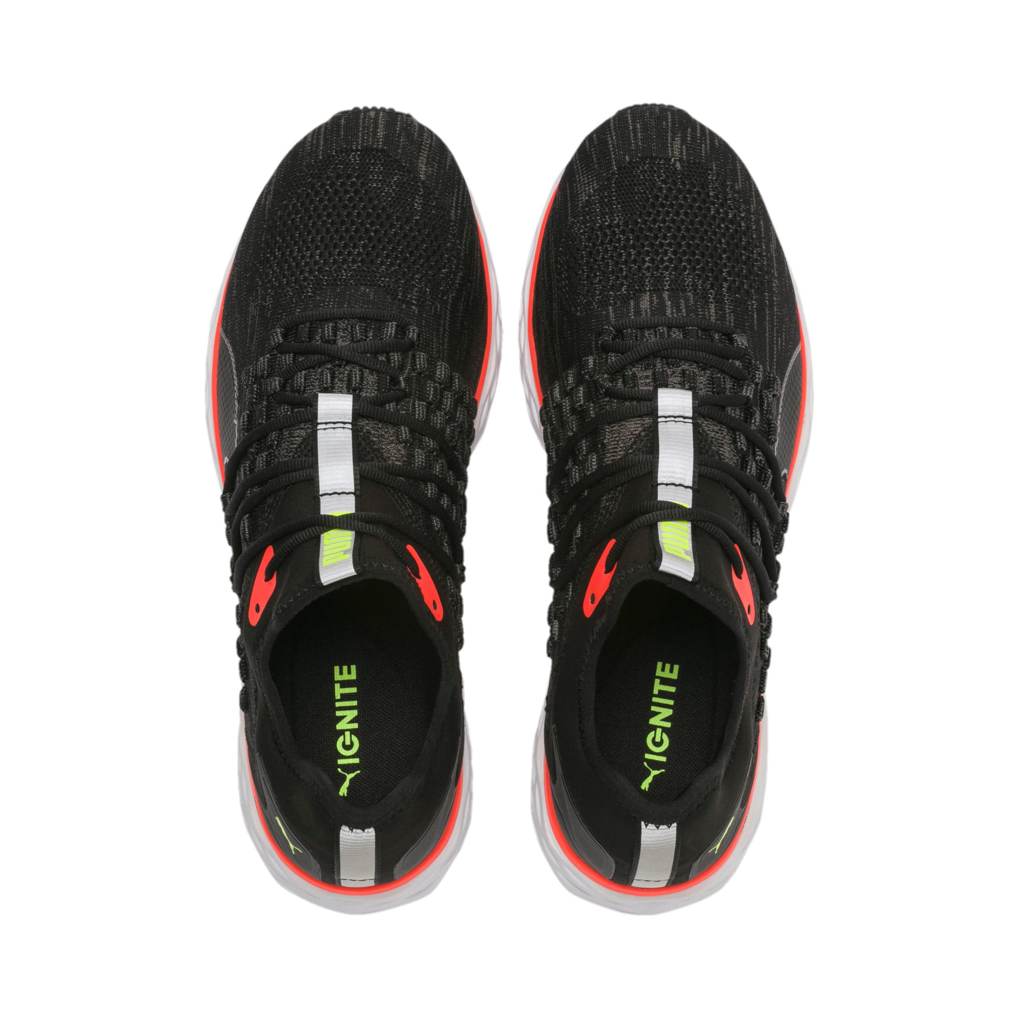 Thumbnail 7 of SPEED FUSEFIT Men's Running Shoes, Puma Black-Nrgy Red, medium