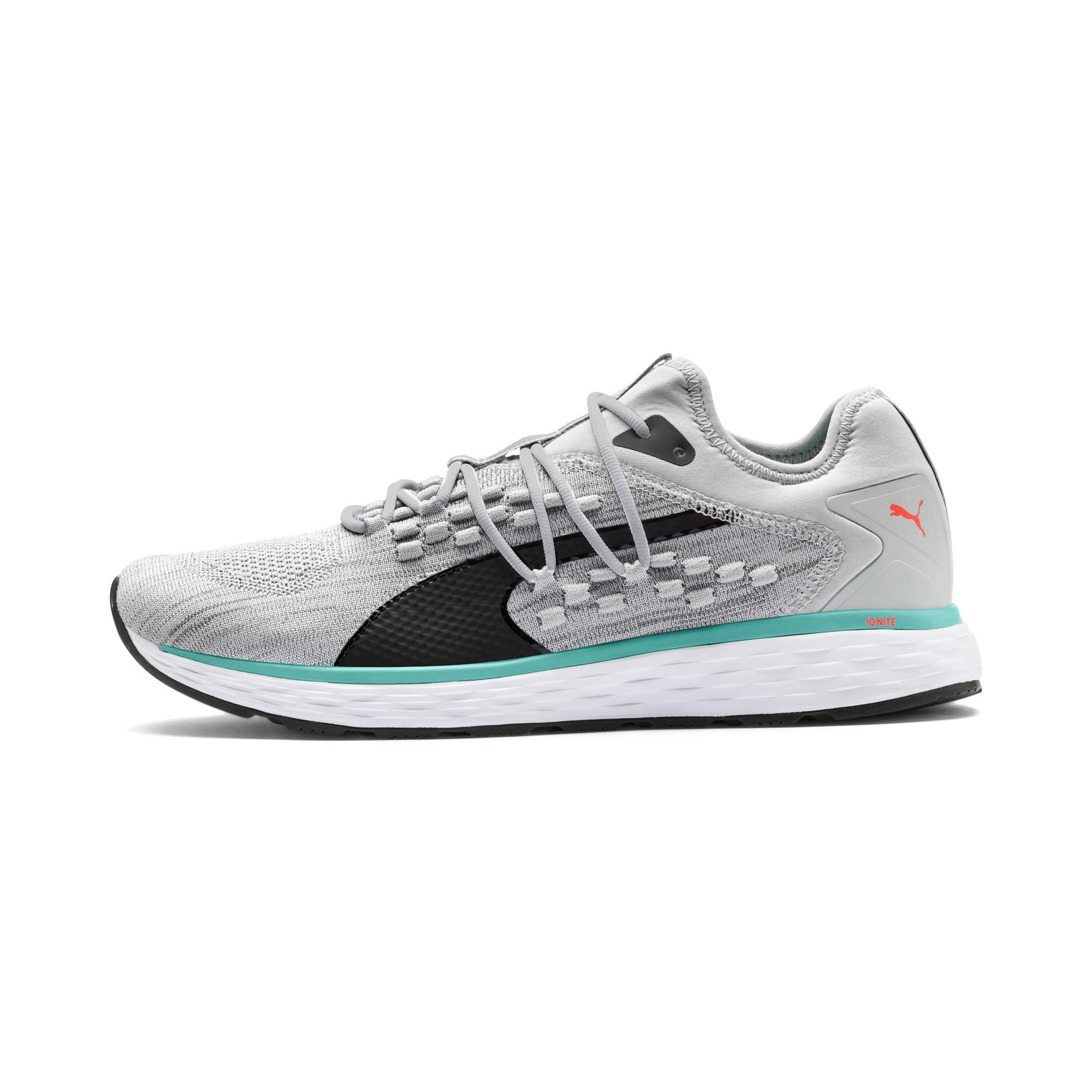 Thumbnail 1 of SPEED FUSEFIT Men's Running Shoes, High Rise-Blue Turquoise, medium