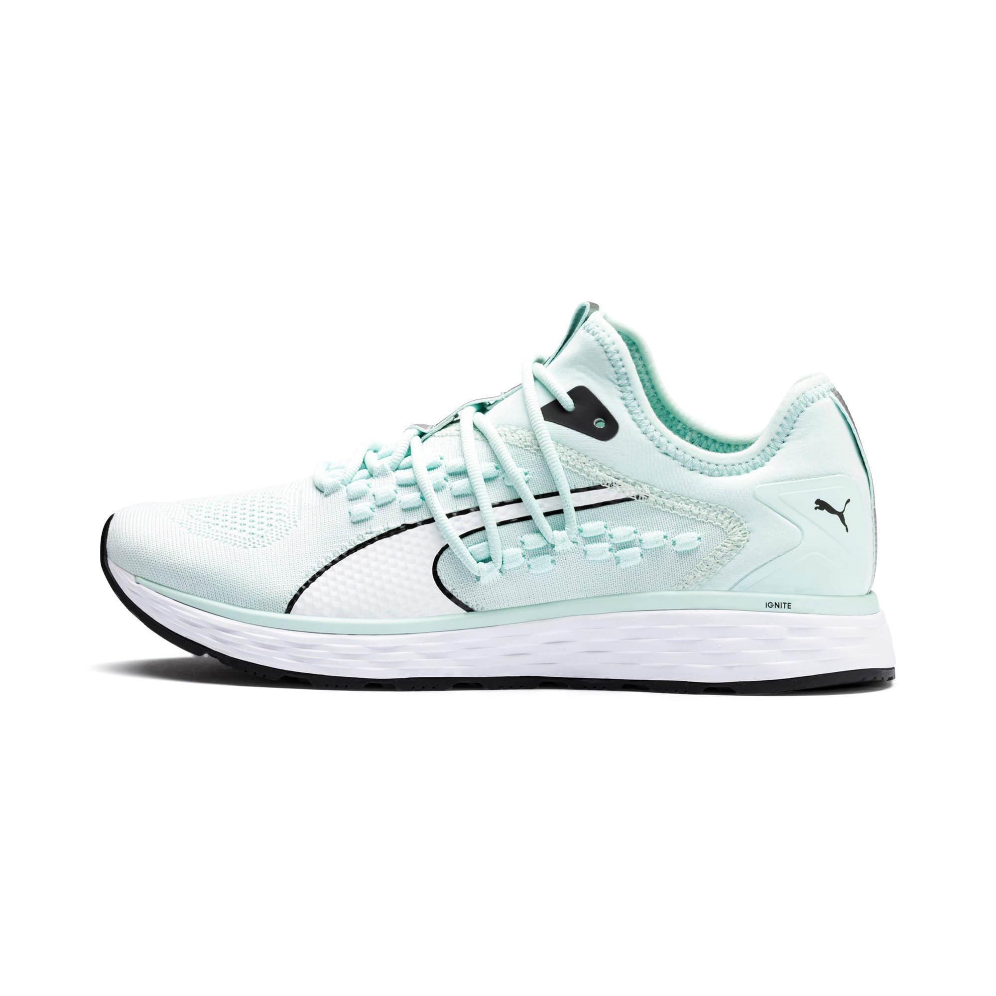 Thumbnail 1 of SPEED 600 FUSEFIT Women's Running Shoes, Fair Aqua-Puma White, medium
