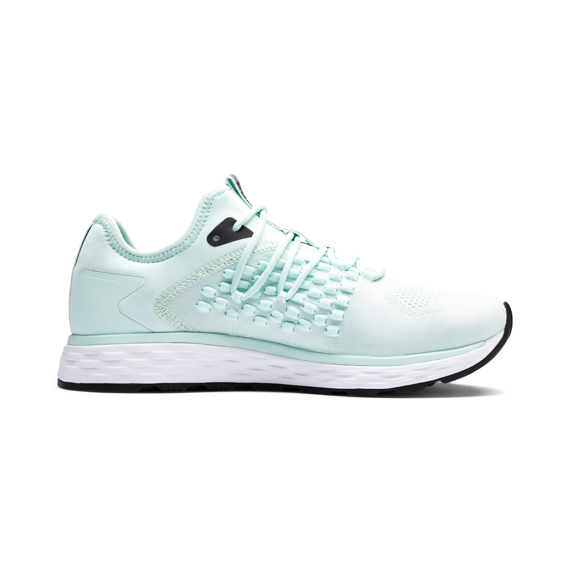 Thumbnail 6 of SPEED 600 FUSEFIT Women's Running Shoes, Fair Aqua-Puma White, medium