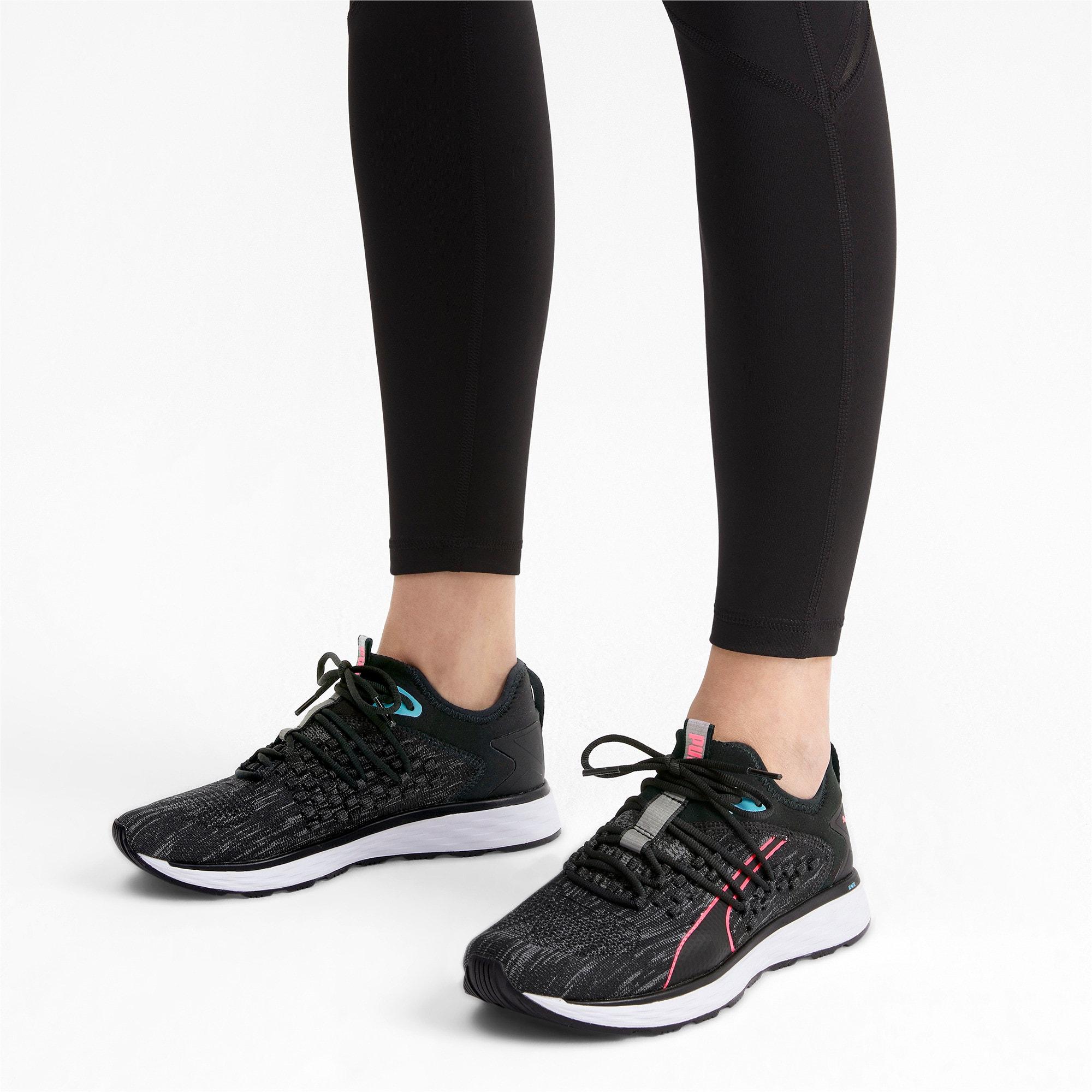 Thumbnail 2 of SPEED 600 FUSEFIT Women's Running Shoes, Puma Black-Milky Blue, medium