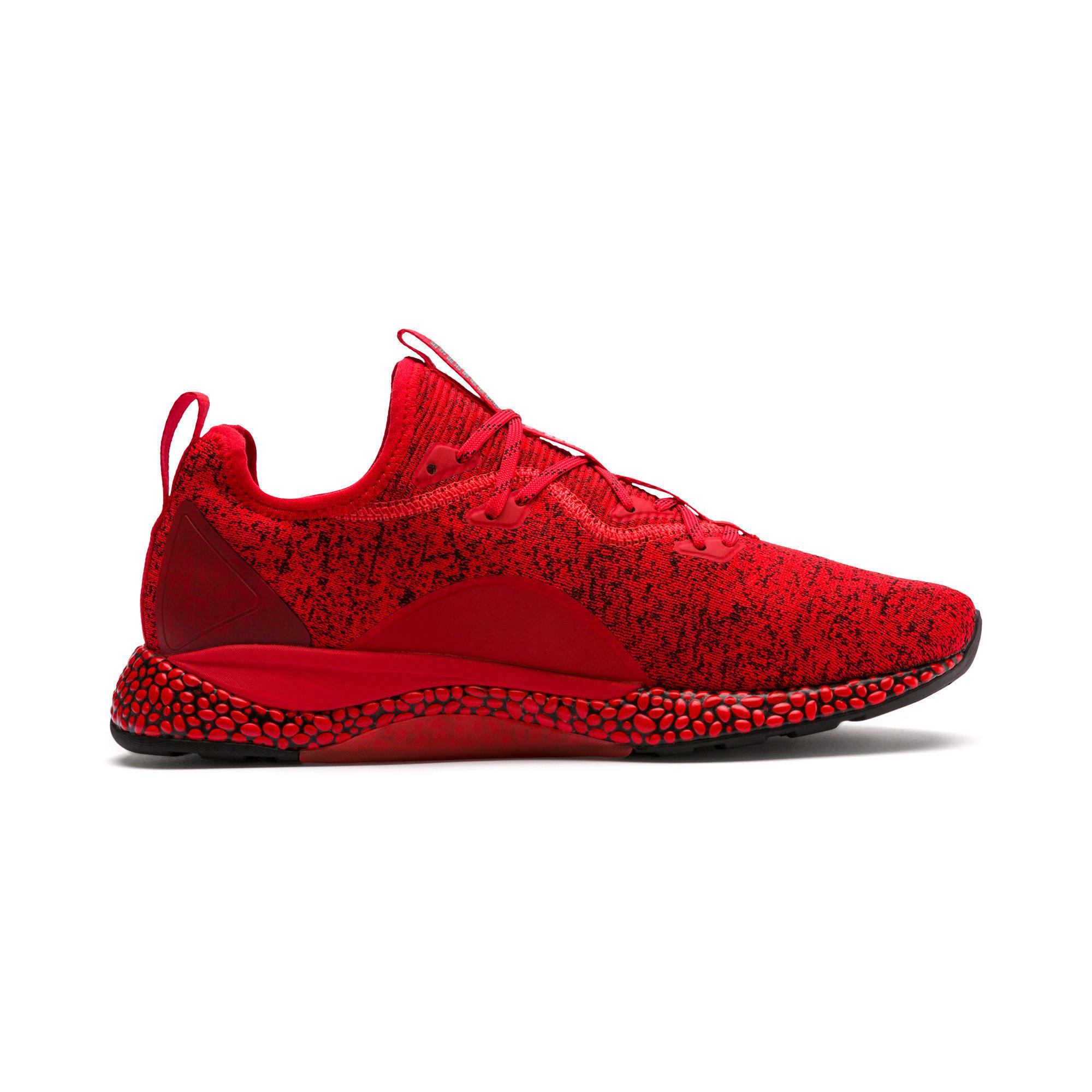 Miniatura 5 de Zapatos para correr HYBRID Runner para hombre, High Risk Red-Puma Black, mediano