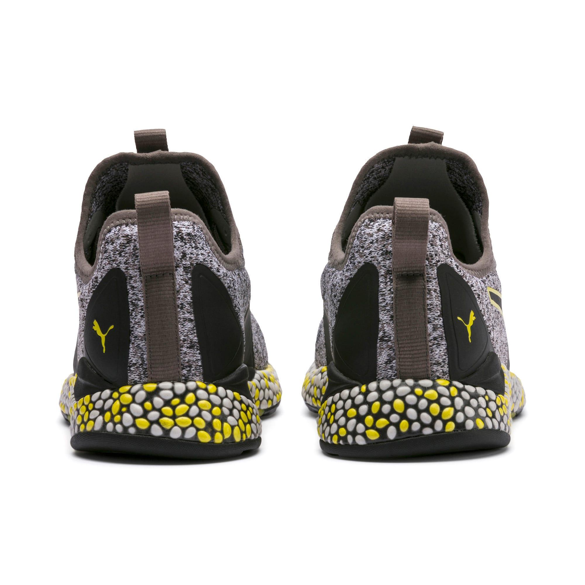 Thumbnail 3 of Hybrid Runner Men's Running Shoes, Black-White-Blazing Yellow, medium
