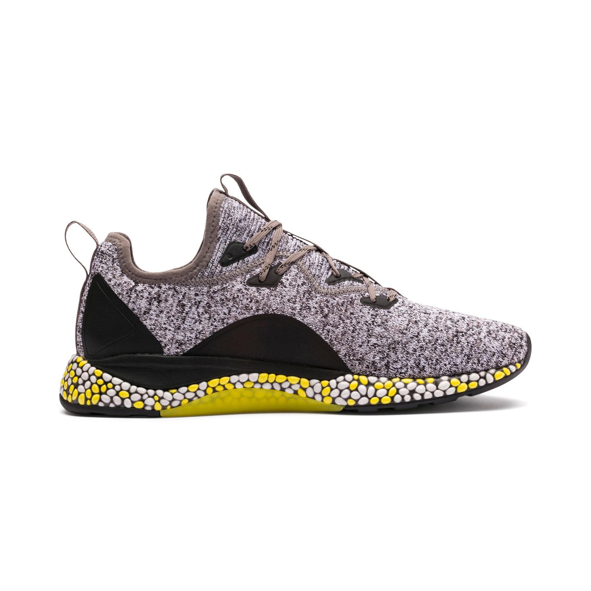 Thumbnail 5 of Hybrid Runner Men's Running Shoes, Black-White-Blazing Yellow, medium