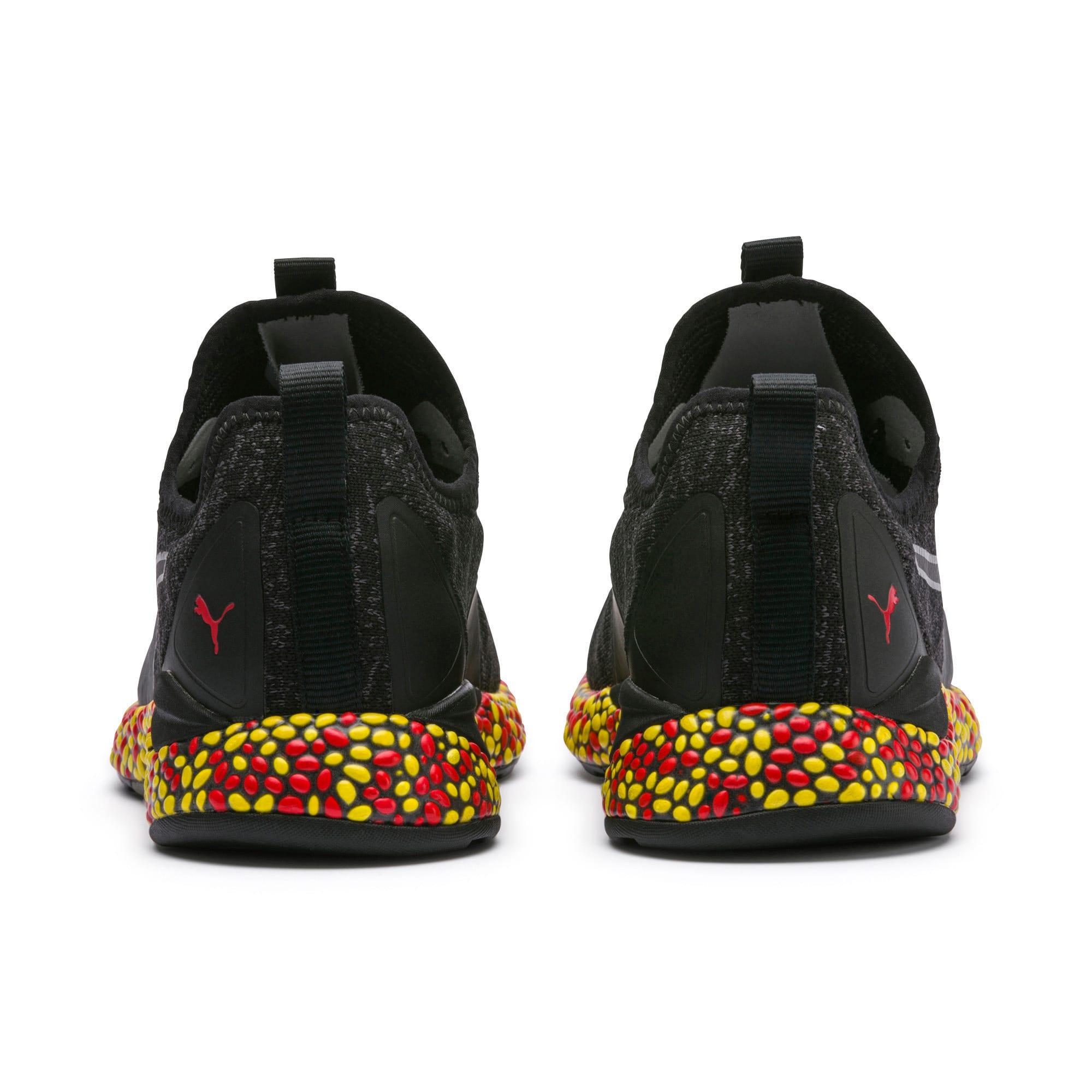 Miniaturka 3 Męskie buty do biegania Hybrid Runner, Kolor Black-Red-Blazing Yellow, średnie