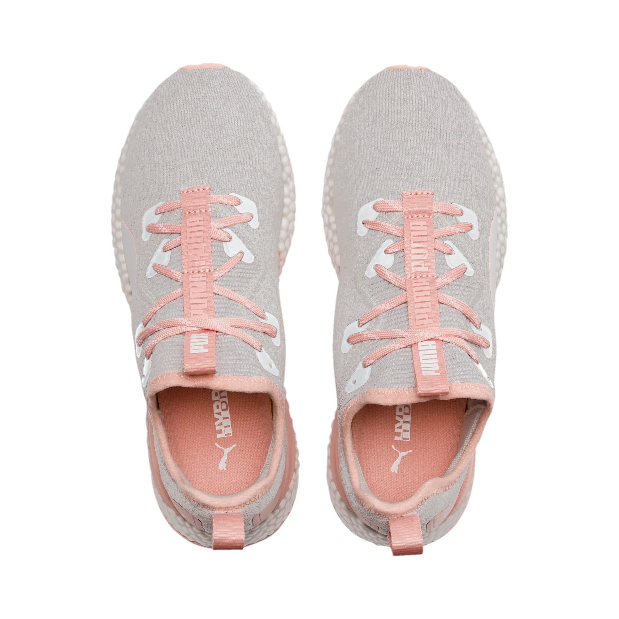 Thumbnail 7 of HYBRID Runner Women's Running Shoes, Glacier Gray-Peach Bud, medium