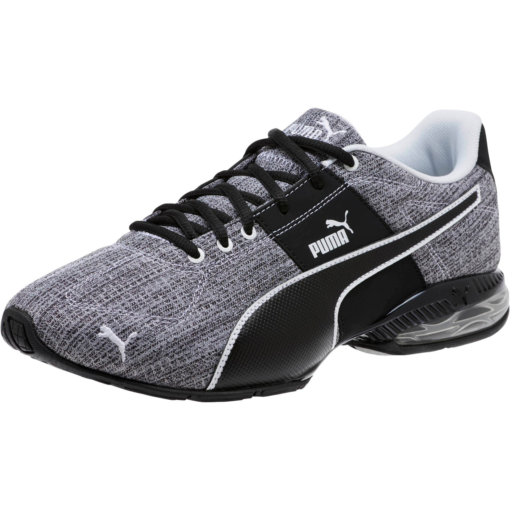 Thumbnail 1 of CELL Surin 2 Heather Men's Running Shoes, Puma Black-Puma White, medium