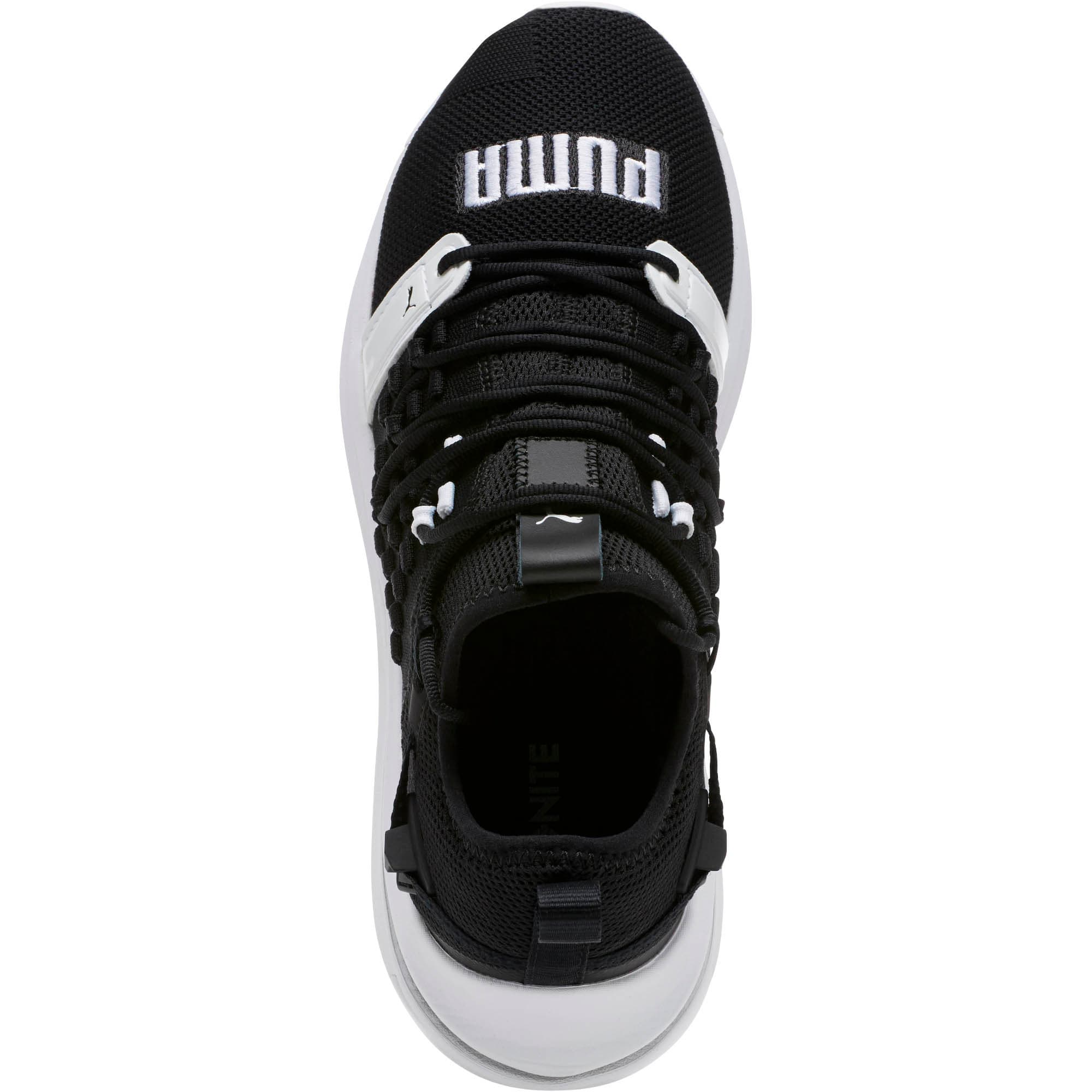 Thumbnail 5 of IGNITE Limitless SR FUSEFIT Running Shoes, Puma Black-Puma White, medium