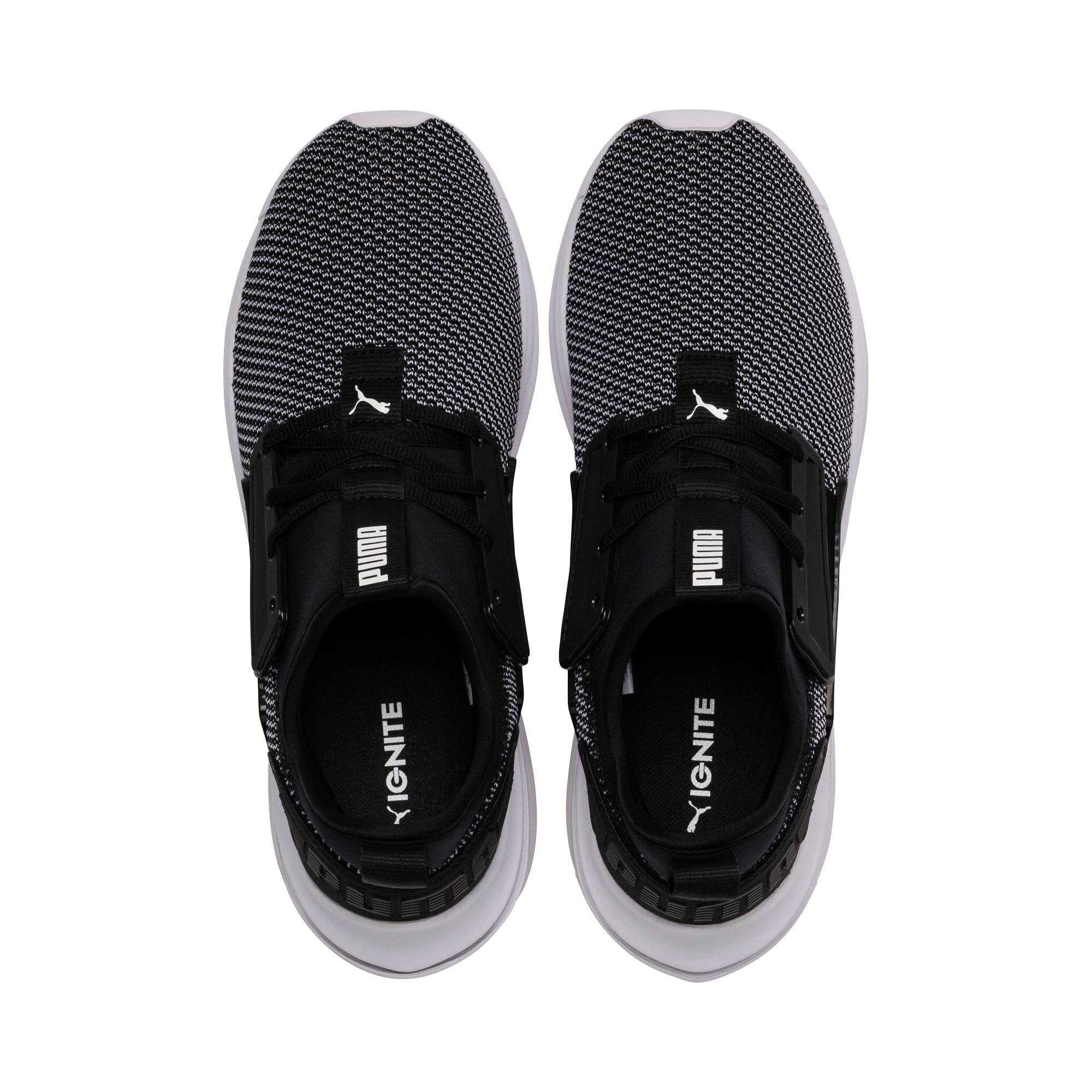 Thumbnail 6 of IGNITE Limitless SR New School Sneakers, Puma Black-Puma White, medium