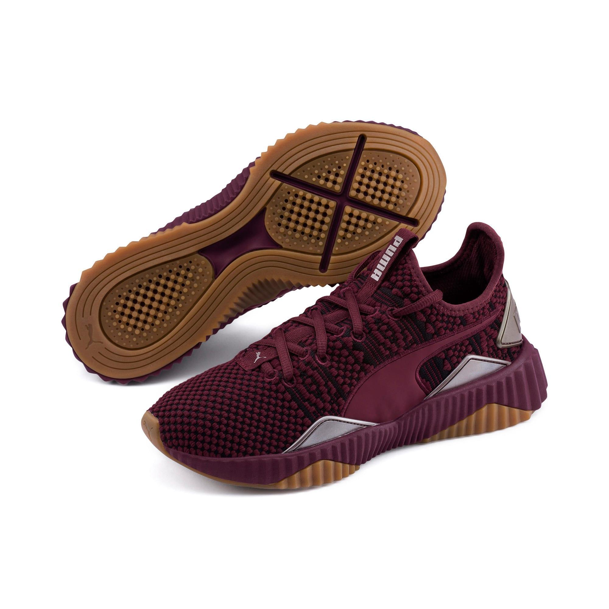 Thumbnail 2 of Defy Luxe Women's Training Shoes, Fig-Metallic Ash, medium