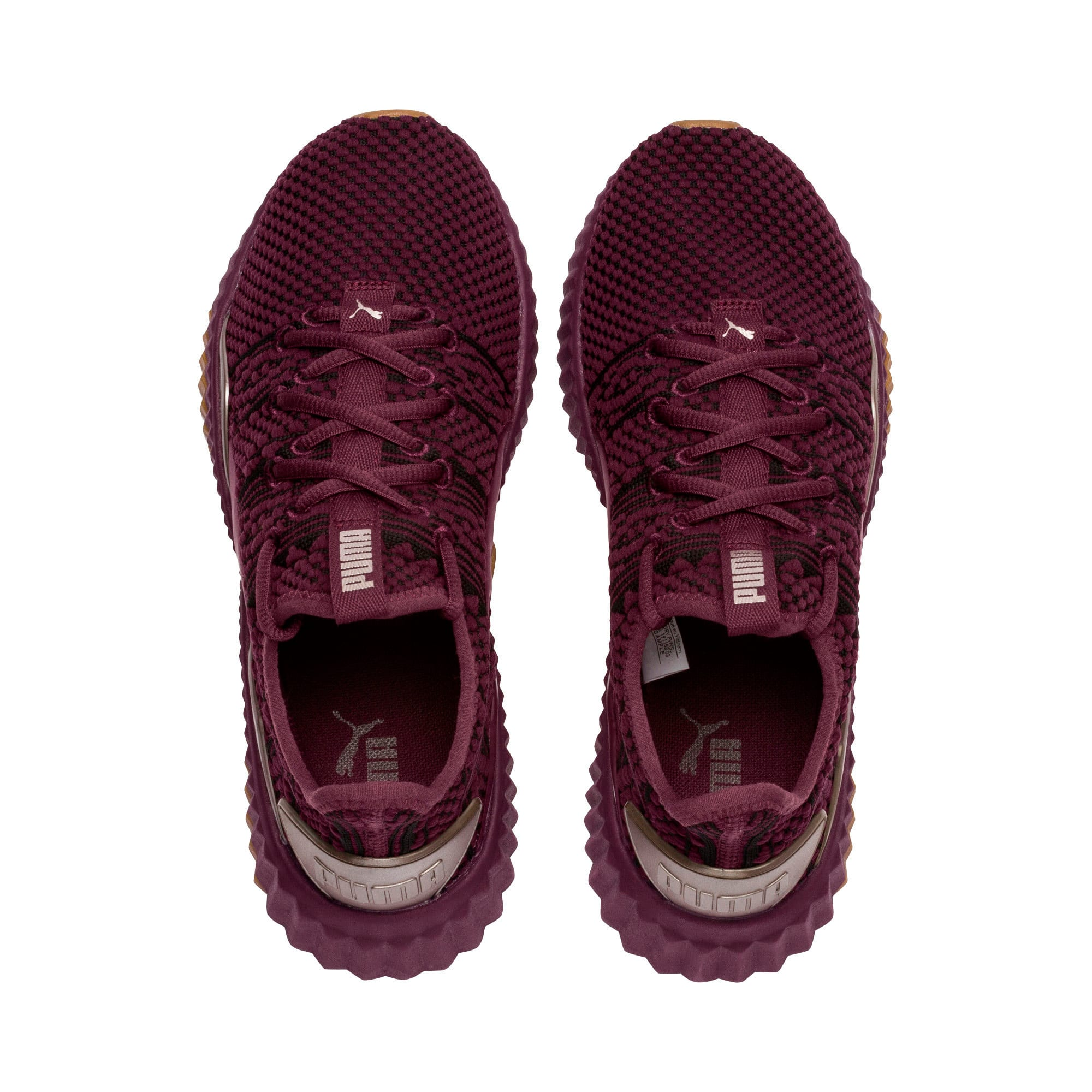 Thumbnail 6 of Defy Luxe Women's Training Shoes, Fig-Metallic Ash, medium
