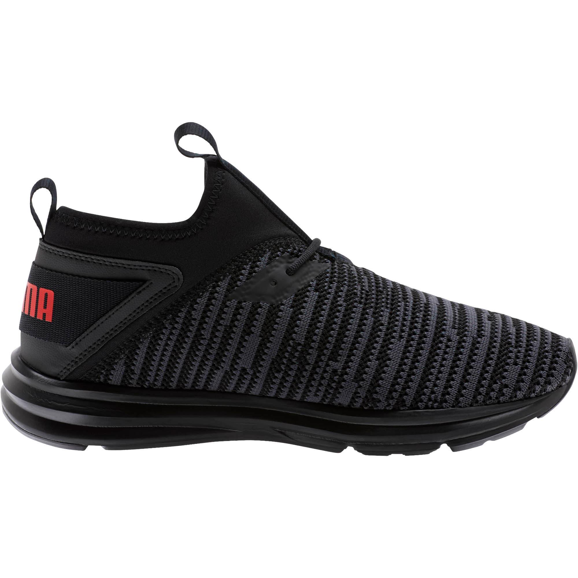 Thumbnail 4 of Enzo Peak Men's Sneakers, Black-Asphalt-High Risk Red, medium