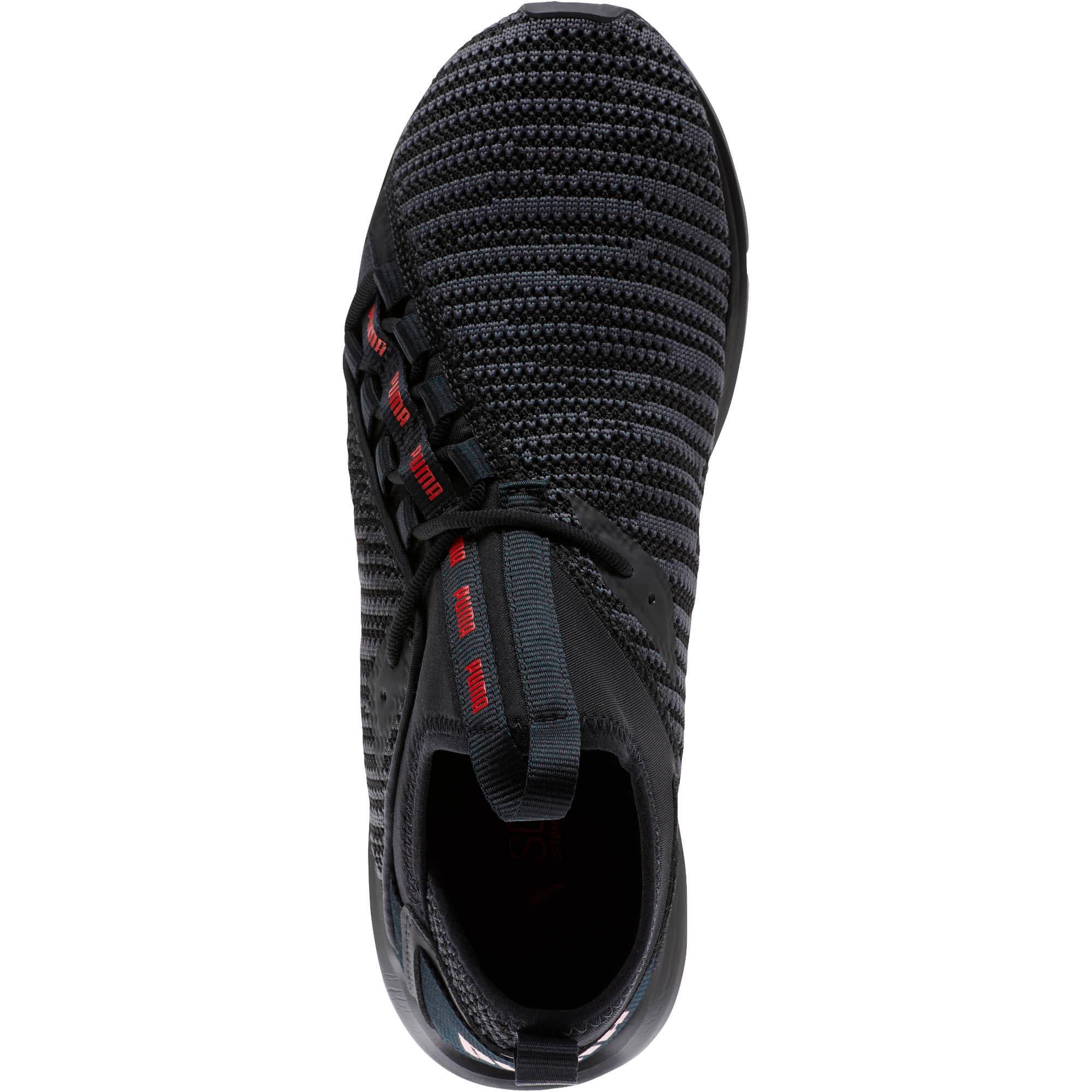 Thumbnail 5 of Enzo Peak Men's Sneakers, Black-Asphalt-High Risk Red, medium