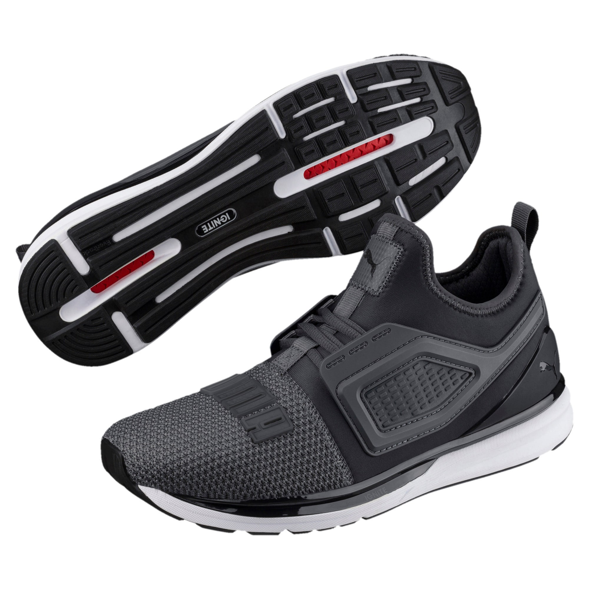 Thumbnail 2 of IGNITE Limitless 2 Running Shoes, Iron Gate-Puma Black, medium